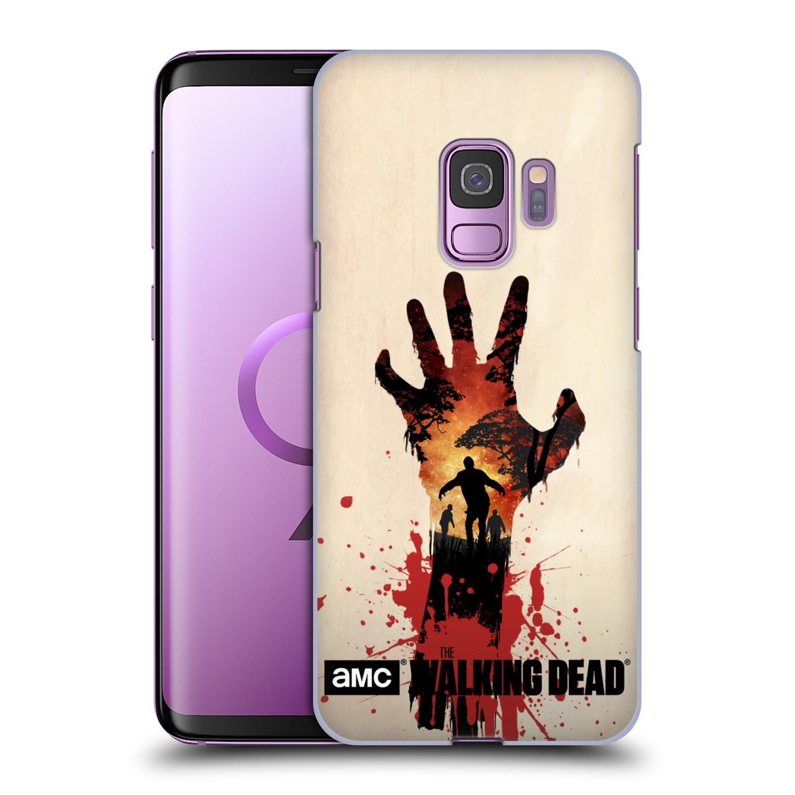 Pouzdro na mobil Samsung Galaxy S9 - HEAD CASE - Živí Mrtví silueta ruky
