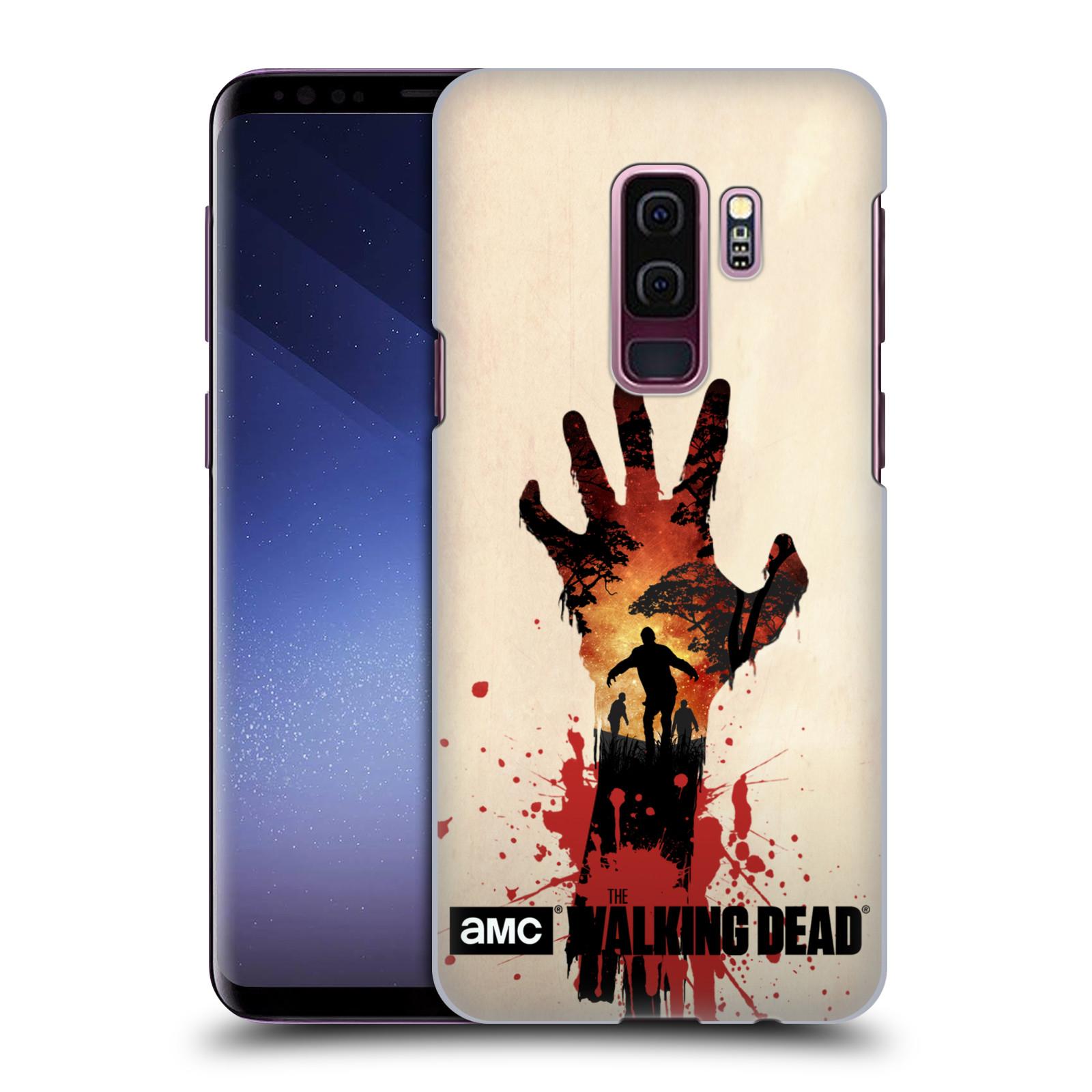 Pouzdro na mobil Samsung Galaxy S9+ / S9 PLUS - HEAD CASE - Živí Mrtví silueta ruky