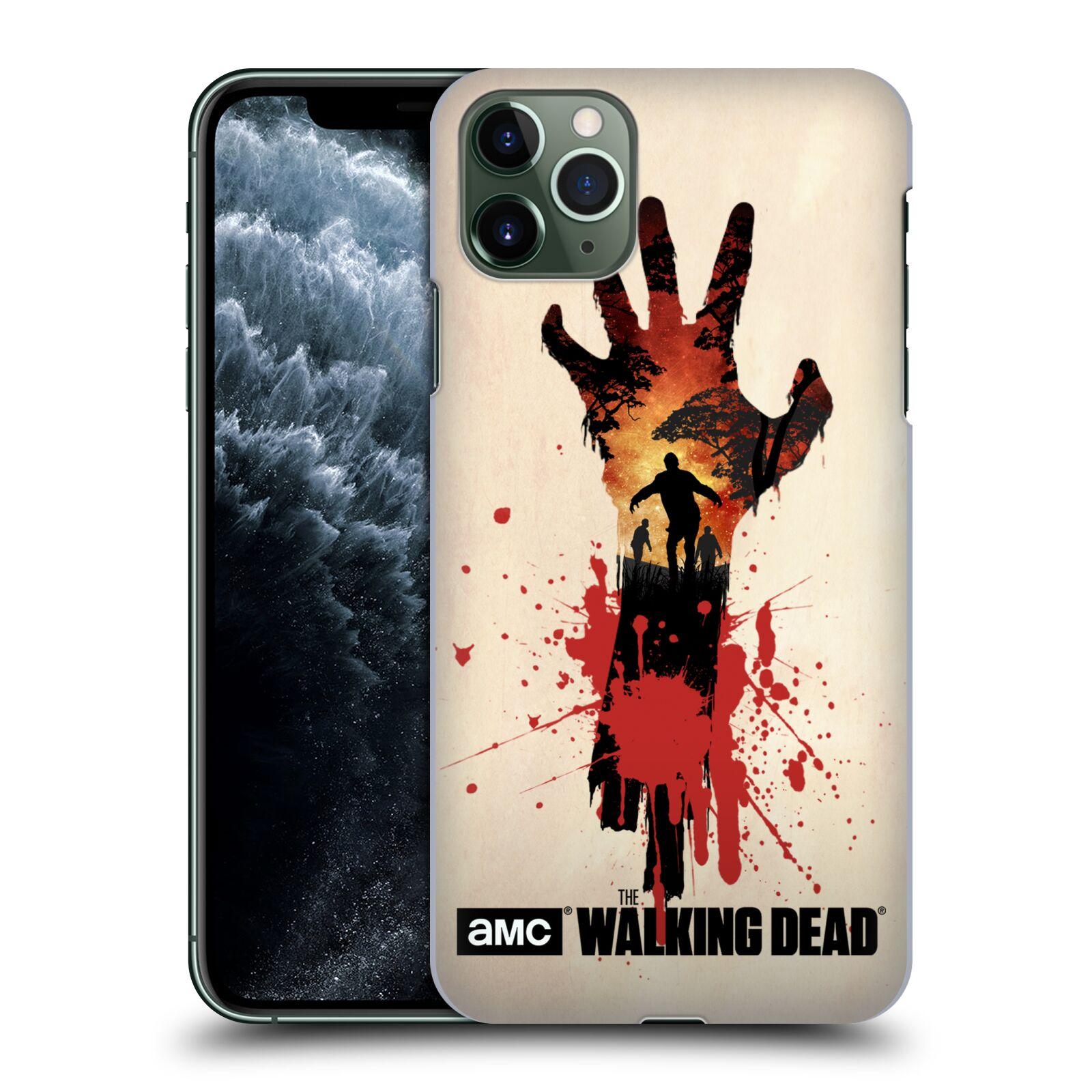 Pouzdro na mobil Apple Iphone 11 PRO MAX - HEAD CASE - Živí Mrtví silueta ruky