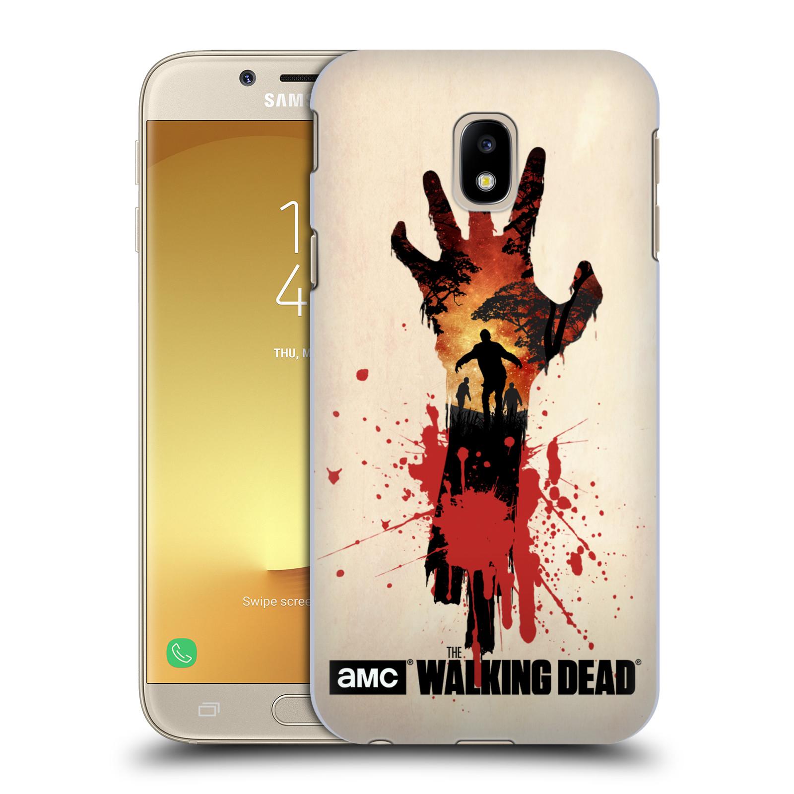 Pouzdro na mobil Samsung Galaxy J3 2017 (J330, J330F) - HEAD CASE - Živí Mrtví silueta ruky