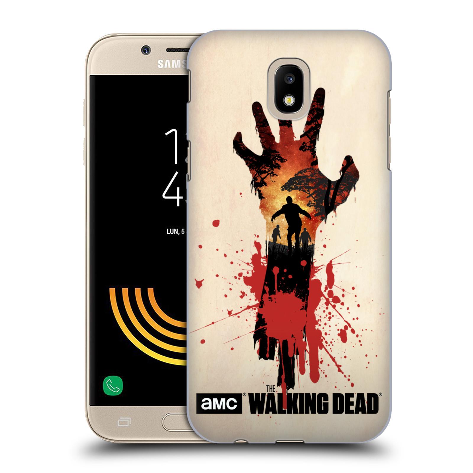 Pouzdro na mobil Samsung Galaxy J5 2017 - HEAD CASE - Živí Mrtví silueta ruky