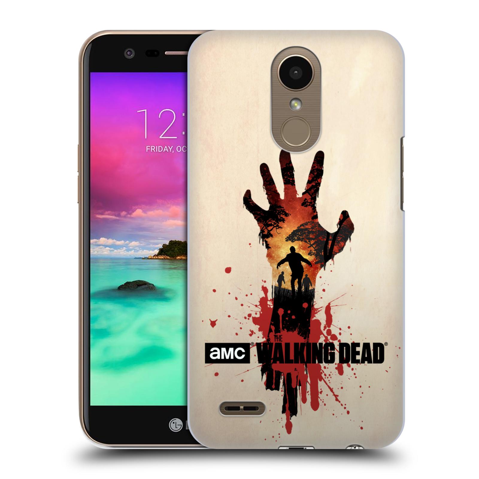 Pouzdro na mobil LG K10 2017 / K10 2017 DUAL SIM - HEAD CASE - Živí Mrtví silueta ruky