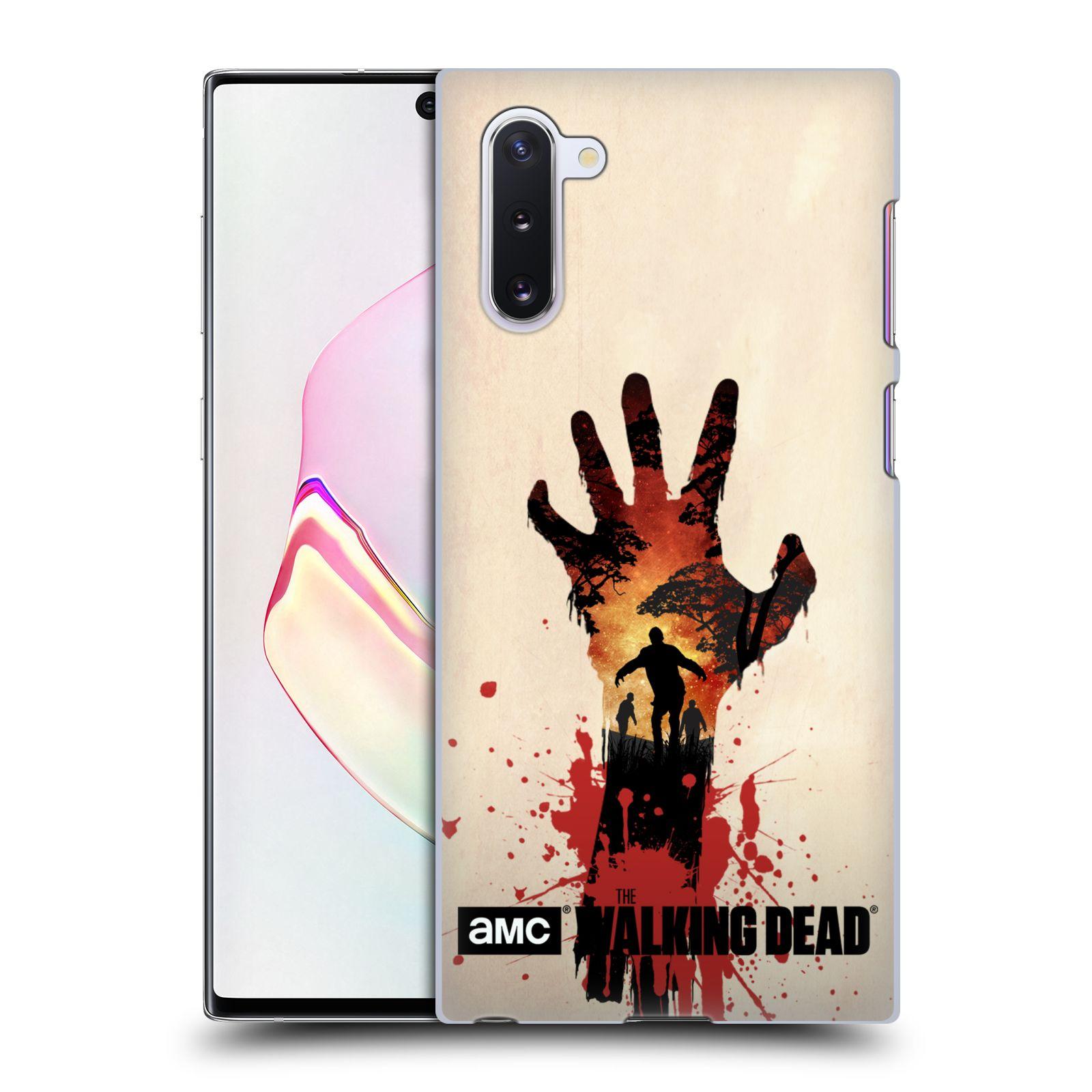 Pouzdro na mobil Samsung Galaxy Note 10 - HEAD CASE - Živí Mrtví silueta ruky