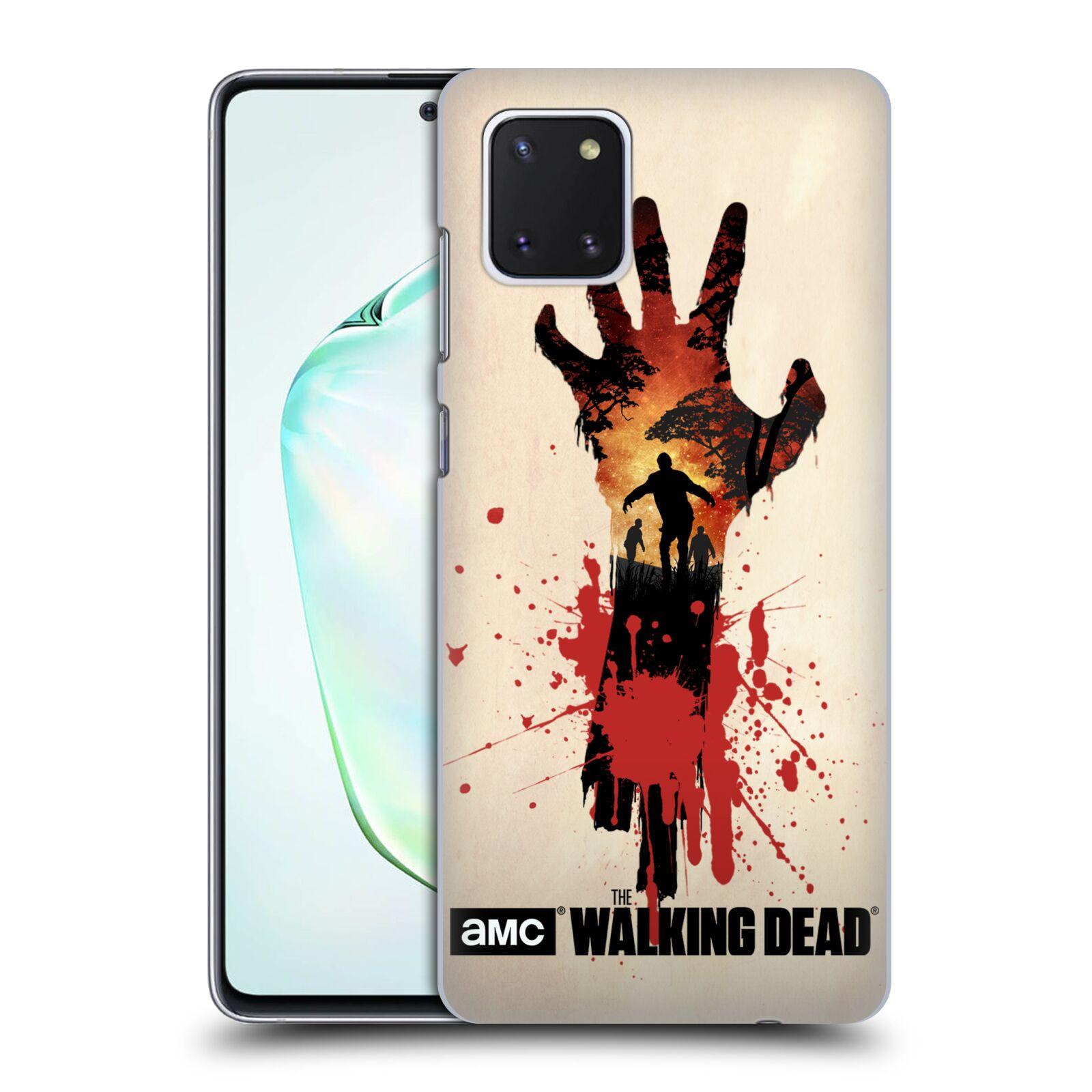 Pouzdro na mobil Samsung Galaxy Note 10 LITE - HEAD CASE - Živí Mrtví silueta ruky