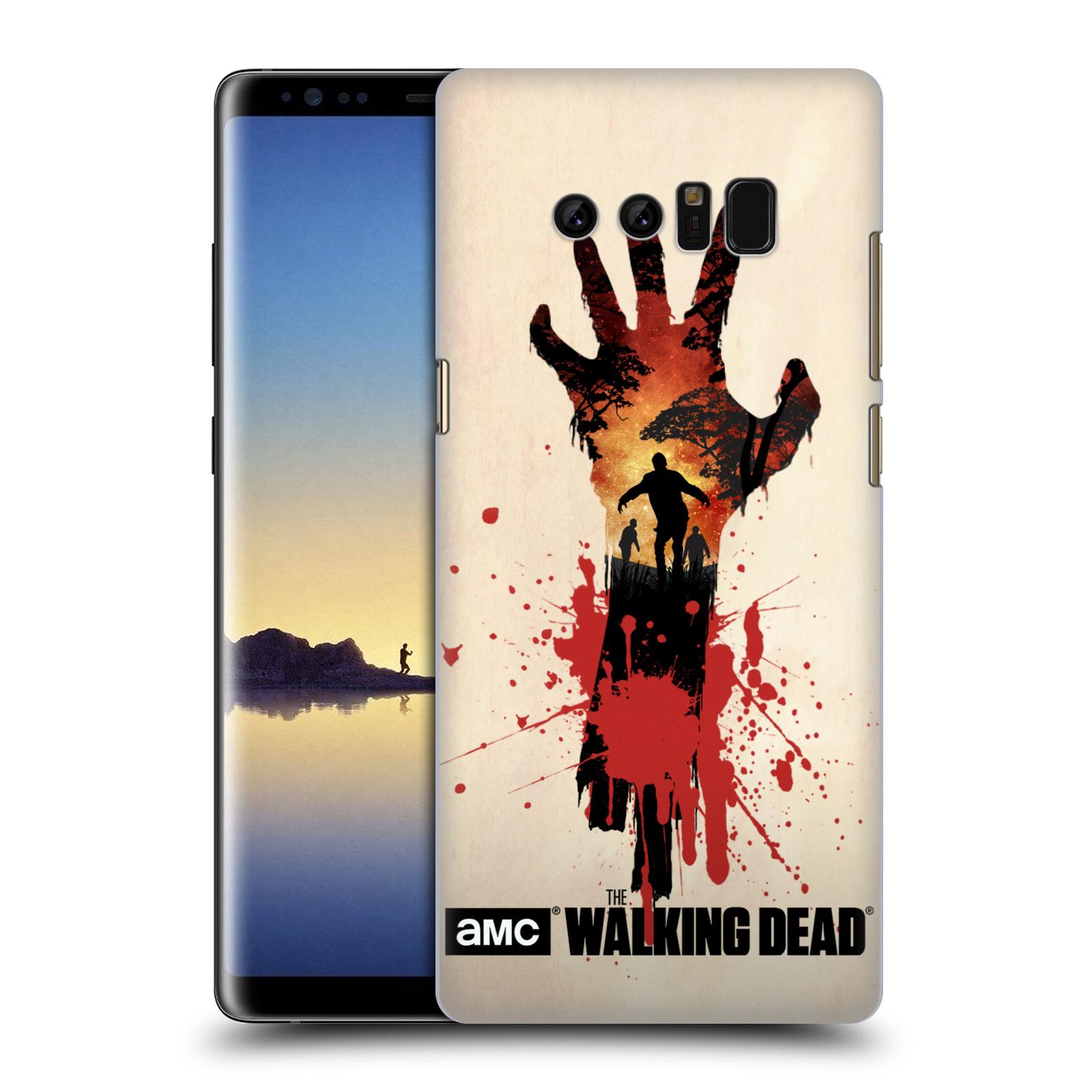 Pouzdro na mobil Samsung Galaxy Note 8 - HEAD CASE - Živí Mrtví silueta ruky