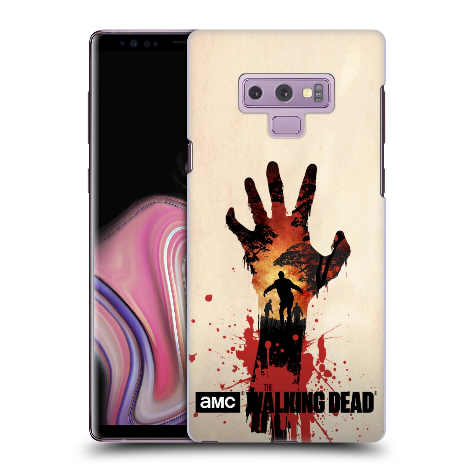 Pouzdro na mobil Samsung Galaxy Note 9 - HEAD CASE - Živí Mrtví silueta ruky