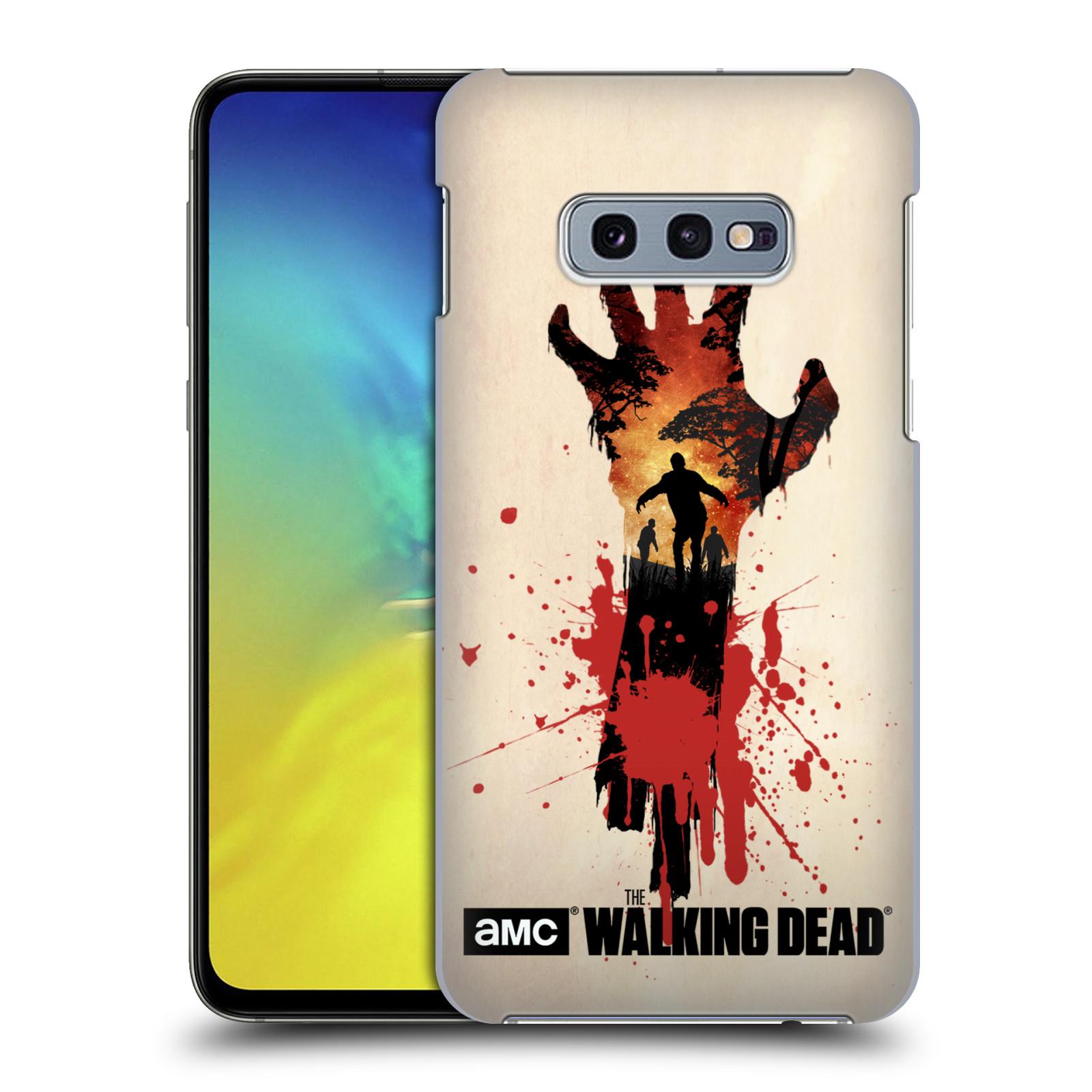 Pouzdro na mobil Samsung Galaxy S10e - HEAD CASE - Živí Mrtví silueta ruky