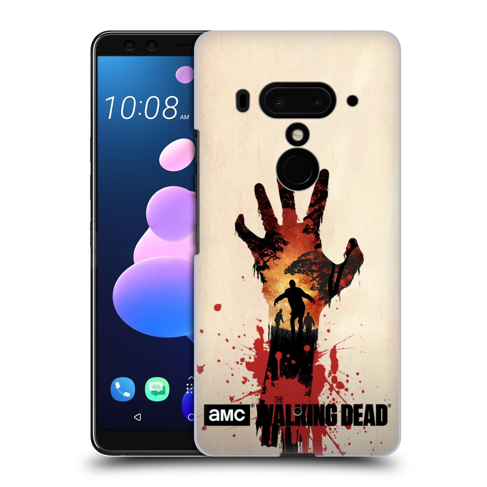 Pouzdro na mobil HTC U 12 PLUS / U 12+ DUAL SIM - HEAD CASE - Živí Mrtví silueta ruky