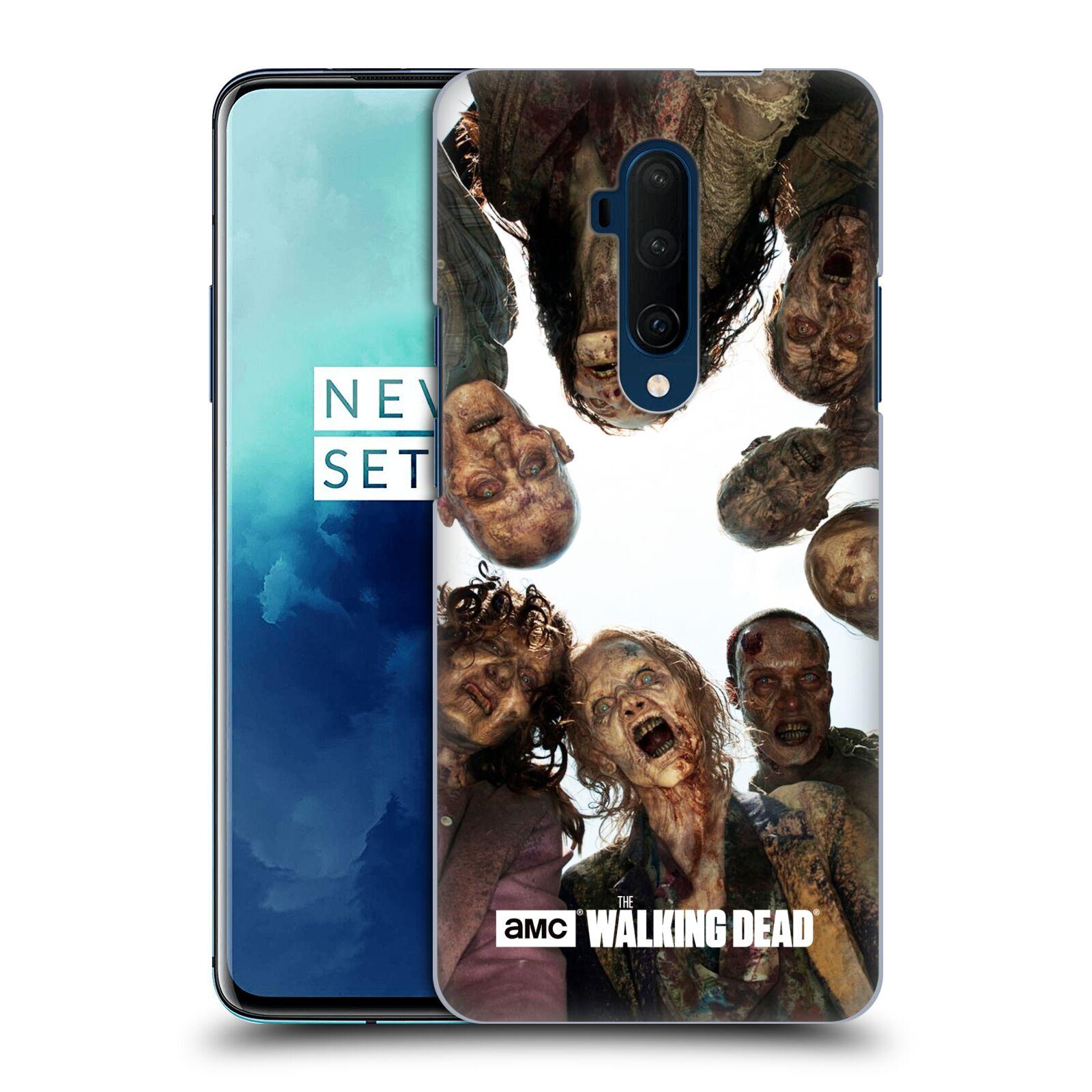 Pouzdro na mobil OnePlus 7T Pro - HEAD CASE - Walking Dead - Oživlé mrtvoly chodci