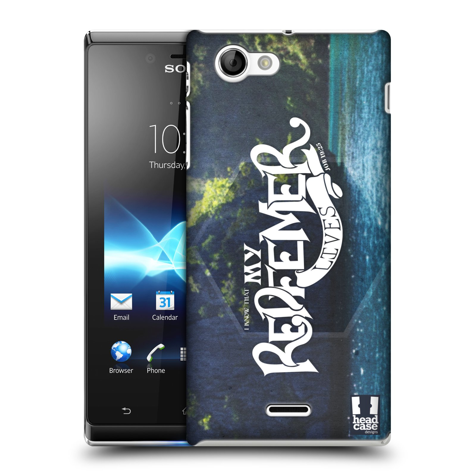 HEAD CASE DESIGNS CHRISTIAN TYPOGRAPHY SERIES 3 CASE FOR SONY XPERIA J ST26i