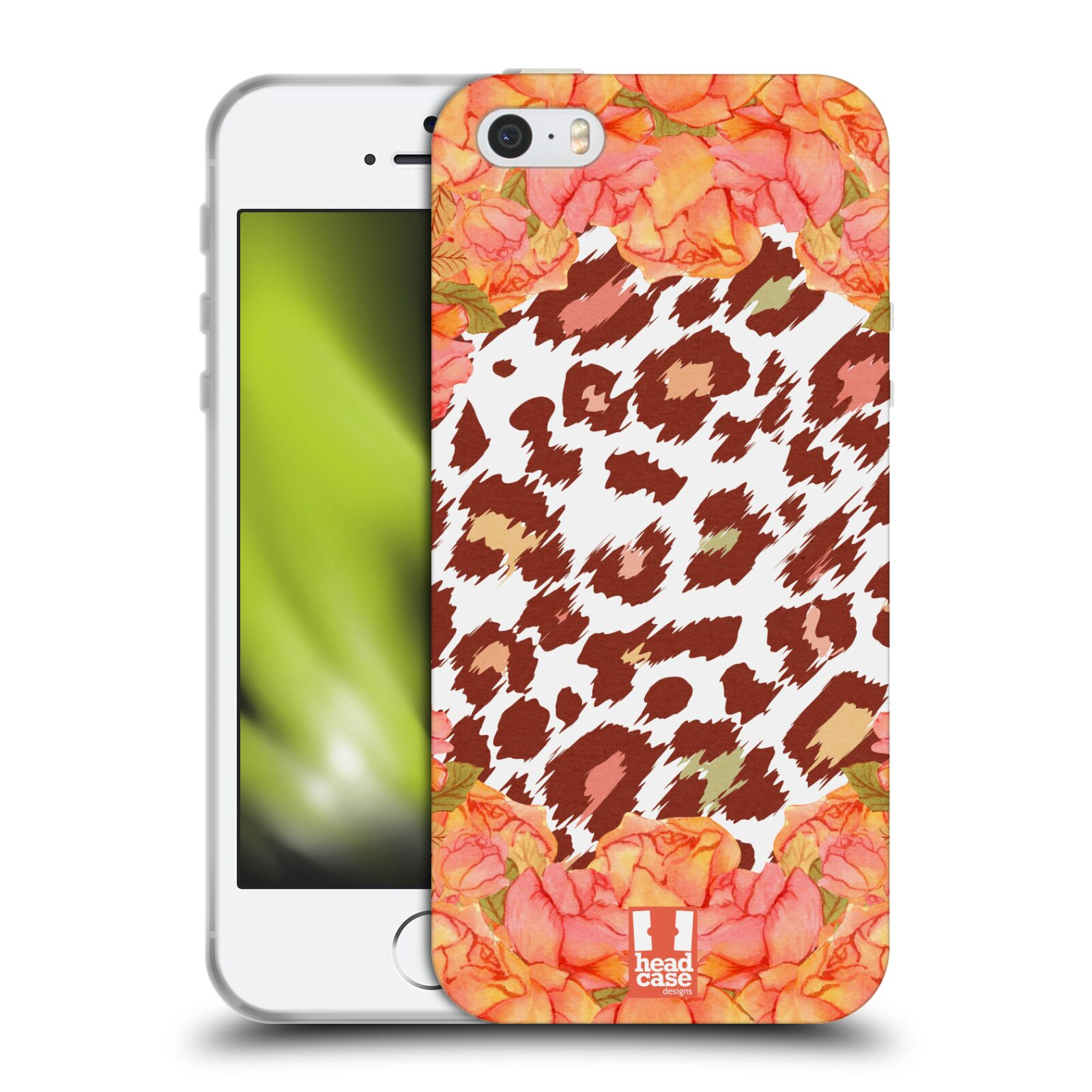 HEAD CASE VINTAGE FLORAL AND ANIMAL PRINTS TPU GEL BACK CASE FOR APPLE iPHONE 5S