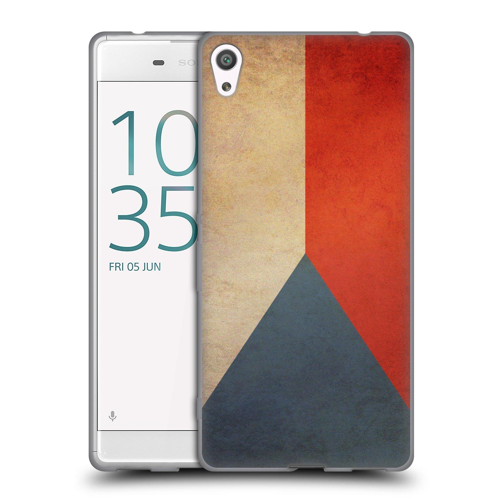 Pouzdro na mobil Sony Xperia XA ULTRA - HEAD CASE - vlajky Česká republika