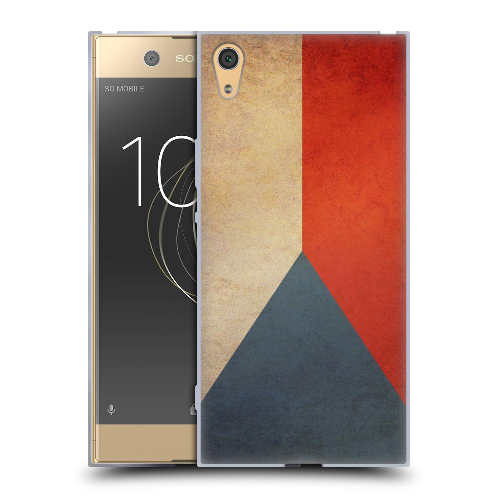 Pouzdro na mobil Sony Xperia XA1 ULTRA - HEAD CASE - vlajky Česká republika