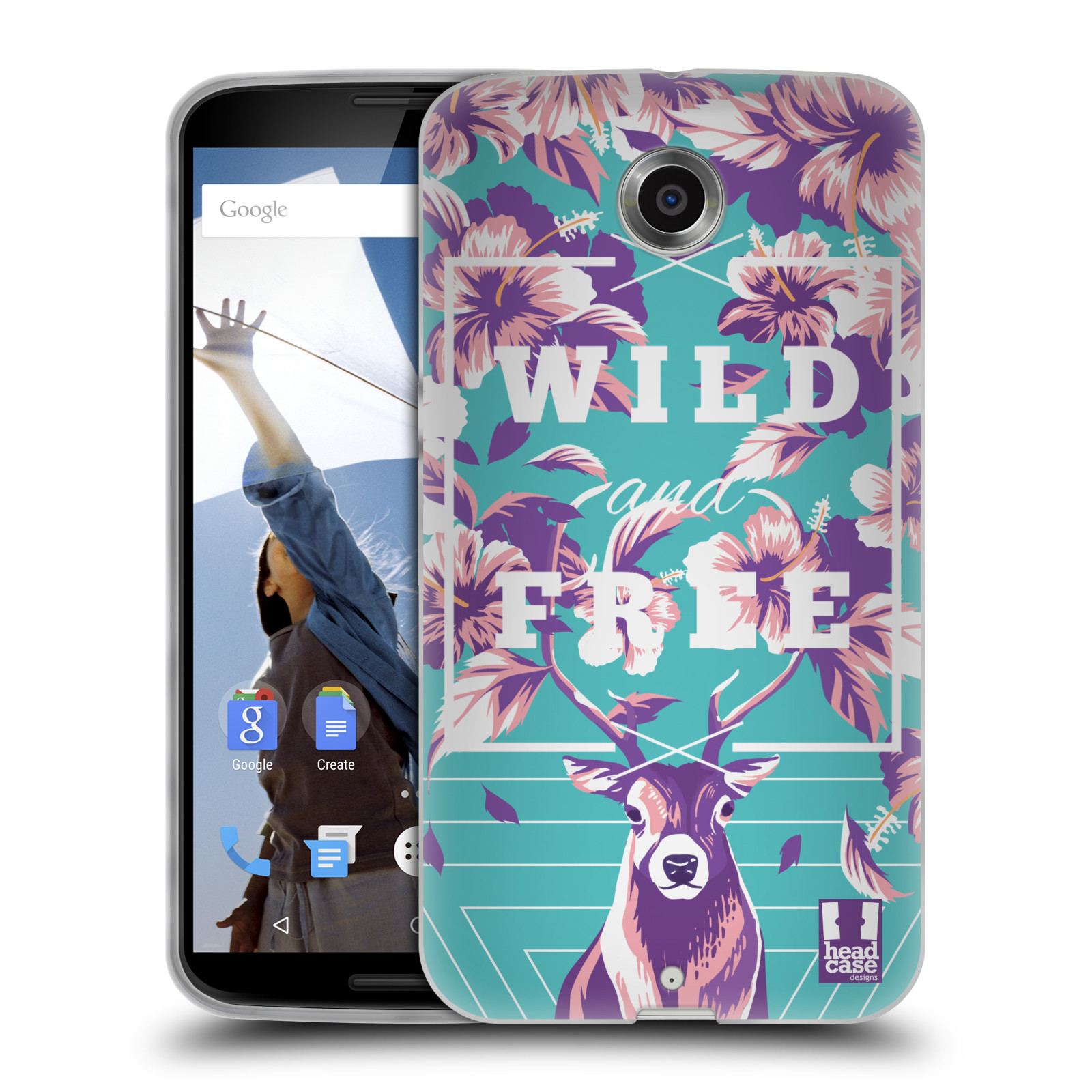 HEAD-CASE-DESIGNS-LEBENDIGER-DJUNGLE-SOFT-GEL-HULLE-FUR-MOTOROLA-HANDYS