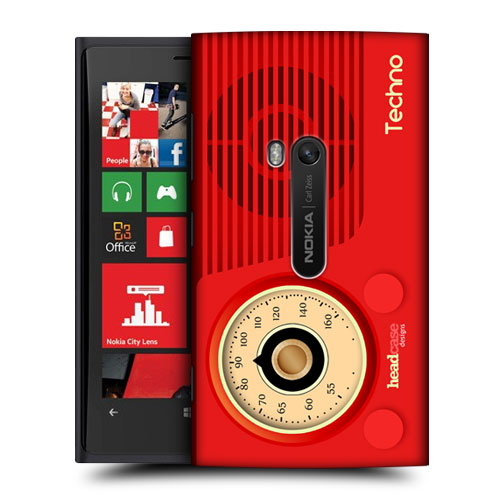 HEAD CASE DESIGNS VINTAGE RADIO PHONE HARD BACK CASE FOR NOKIA LUMIA 920