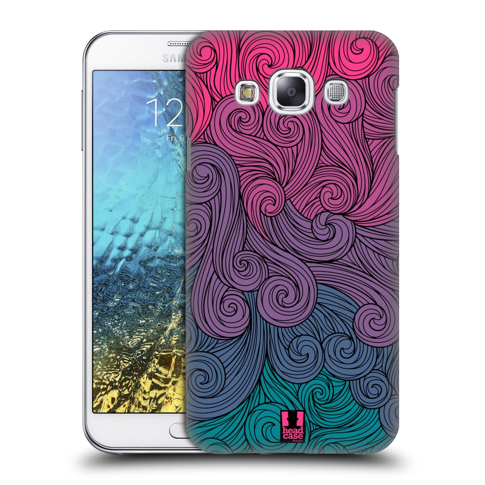 HEAD CASE DESIGNS VIVID SWIRLS HARD BACK CASE FOR SAMSUNG PHONES 3