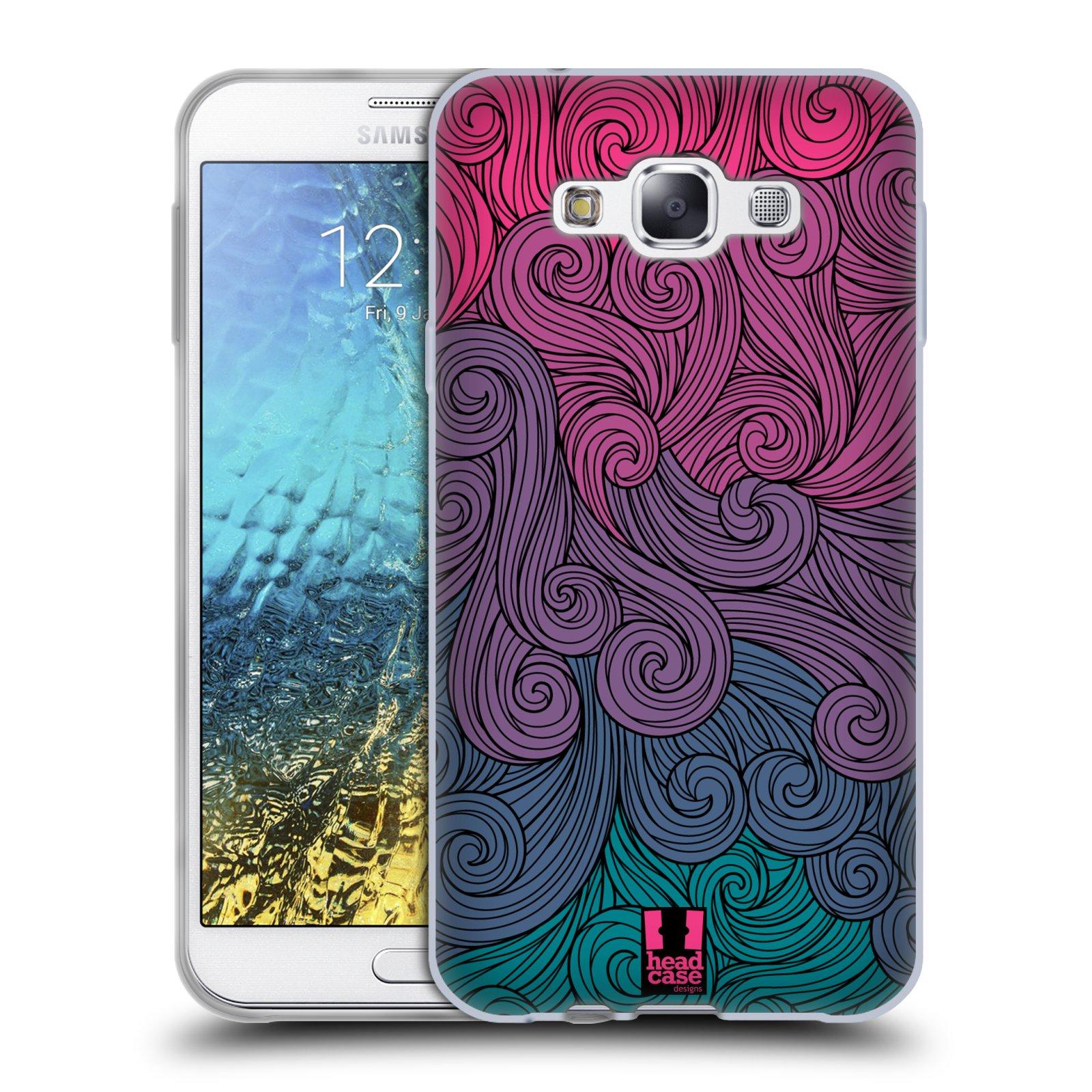 HEAD CASE DESIGNS VIVID SWIRLS SOFT GEL CASE FOR SAMSUNG PHONES 3