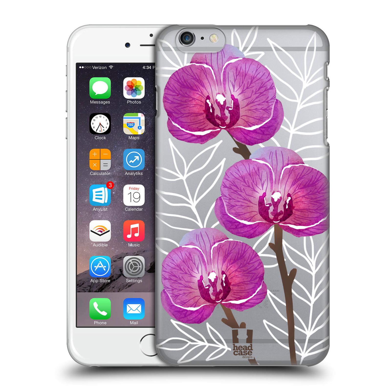 Plastové pouzdro pro mobil Apple Iphone 6 PLUS / 6S PLUS Orchideje fialová