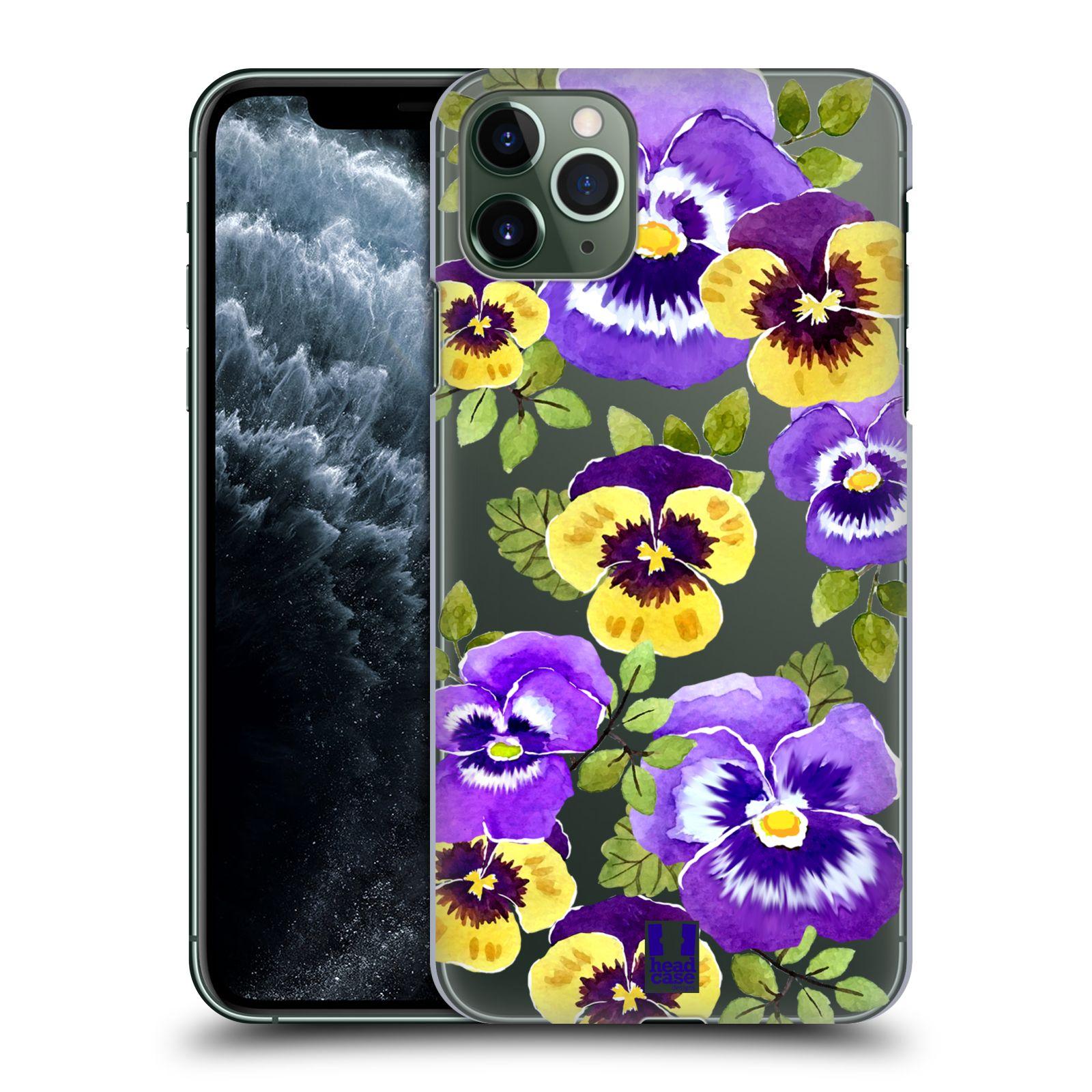Pouzdro na mobil Apple Iphone 11 PRO MAX - HEAD CASE - Maceška fialová barva