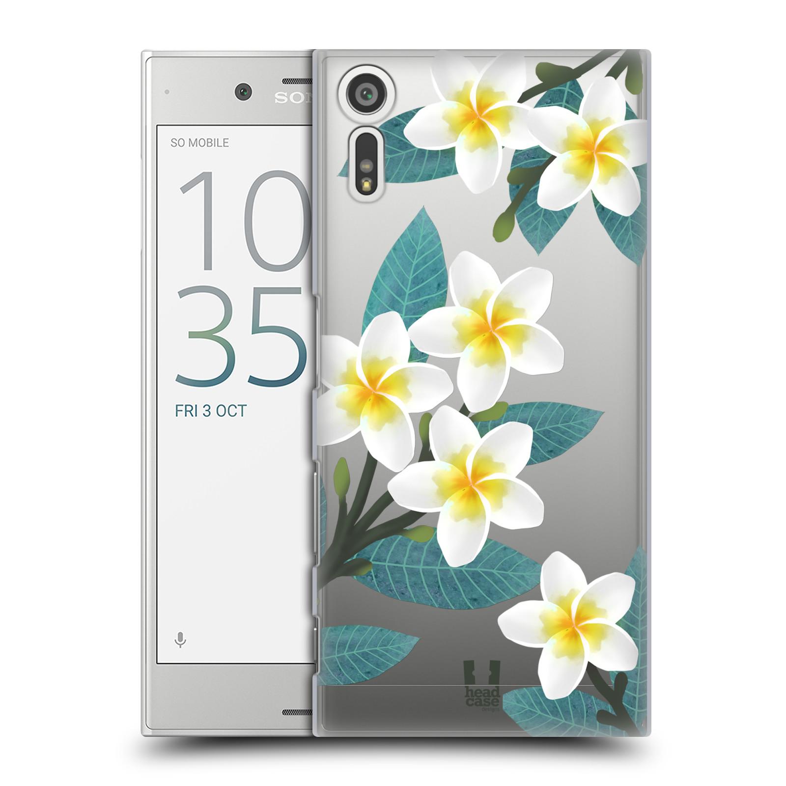 HEAD CASE plastový obal na mobil Sony Xperia XZ květinové vzory Plumérie