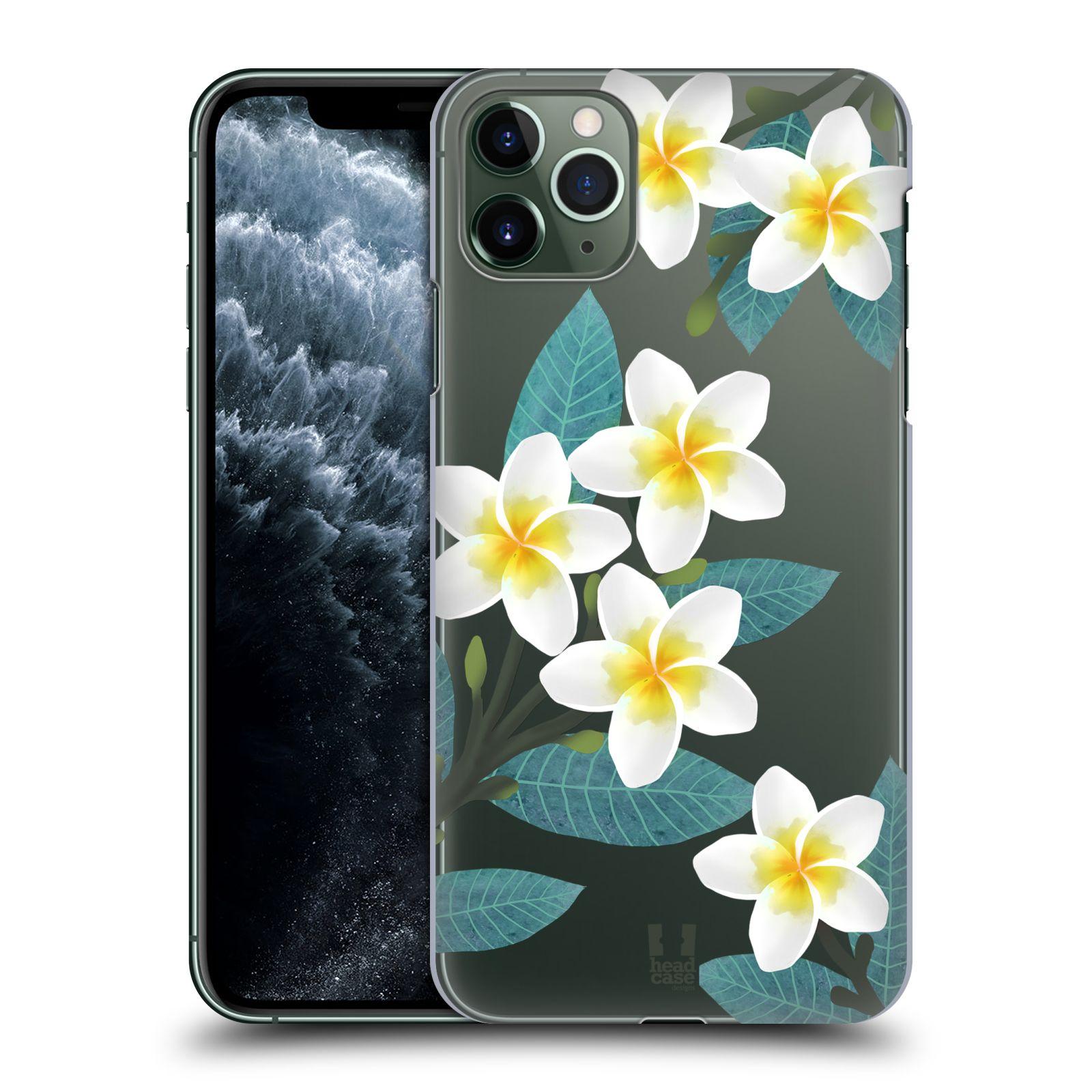 Pouzdro na mobil Apple Iphone 11 PRO MAX - HEAD CASE - květinové vzory Plumérie