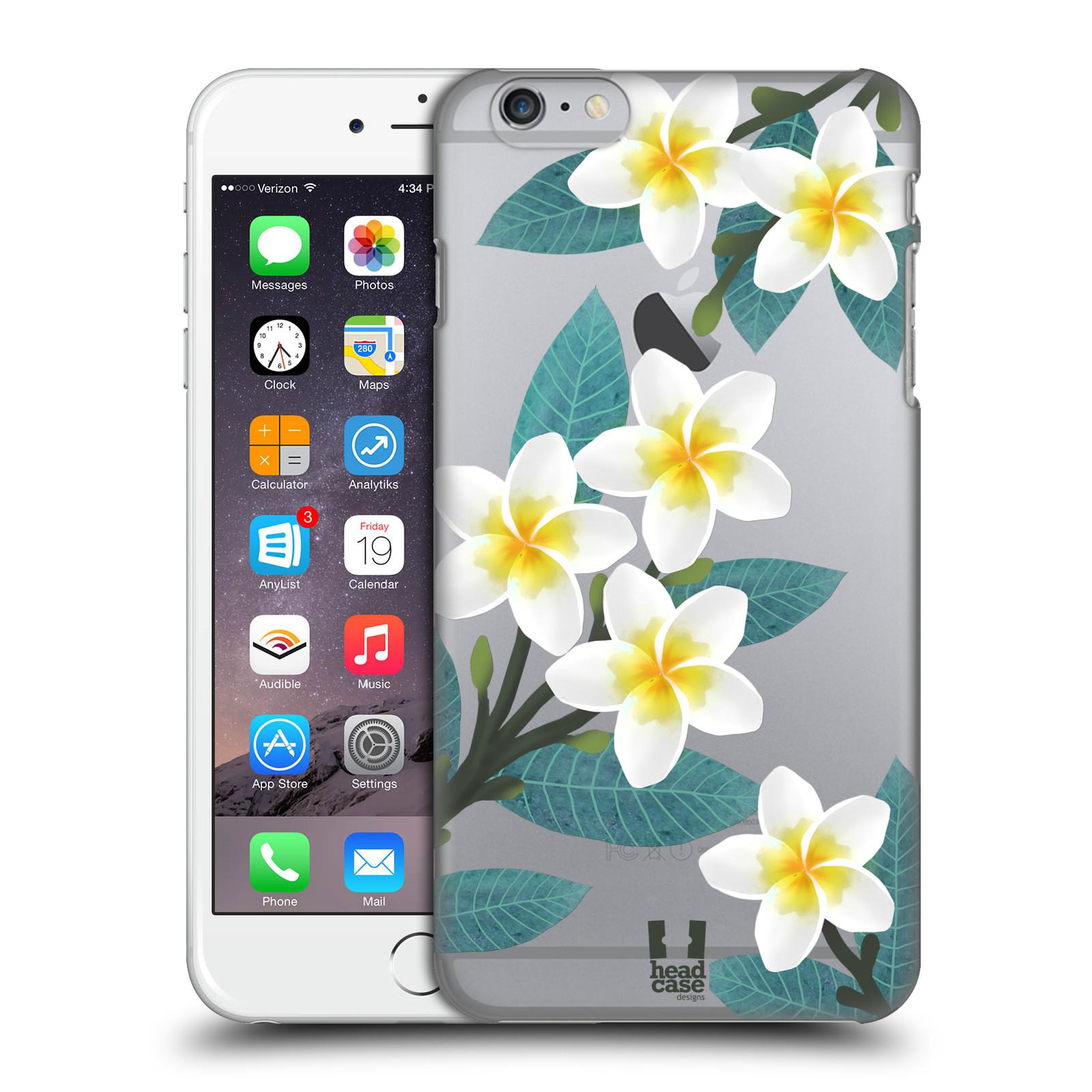 Plastové pouzdro pro mobil Apple Iphone 6 PLUS / 6S PLUS květinové vzory Plumérie