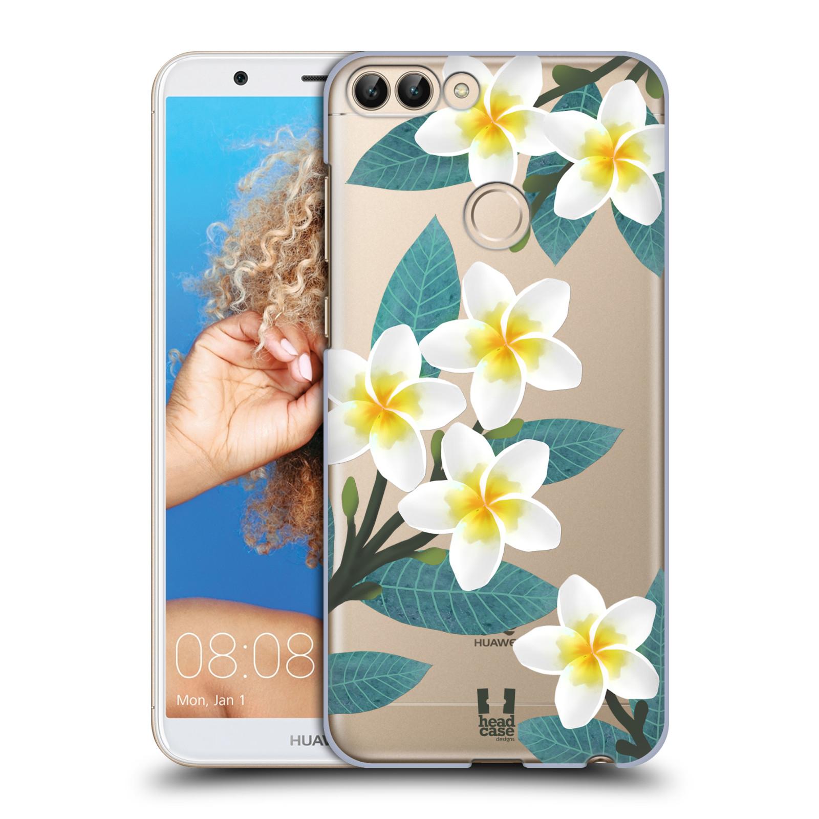 HEAD CASE plastový obal na mobil Huawei P Smart květinové vzory Plumérie