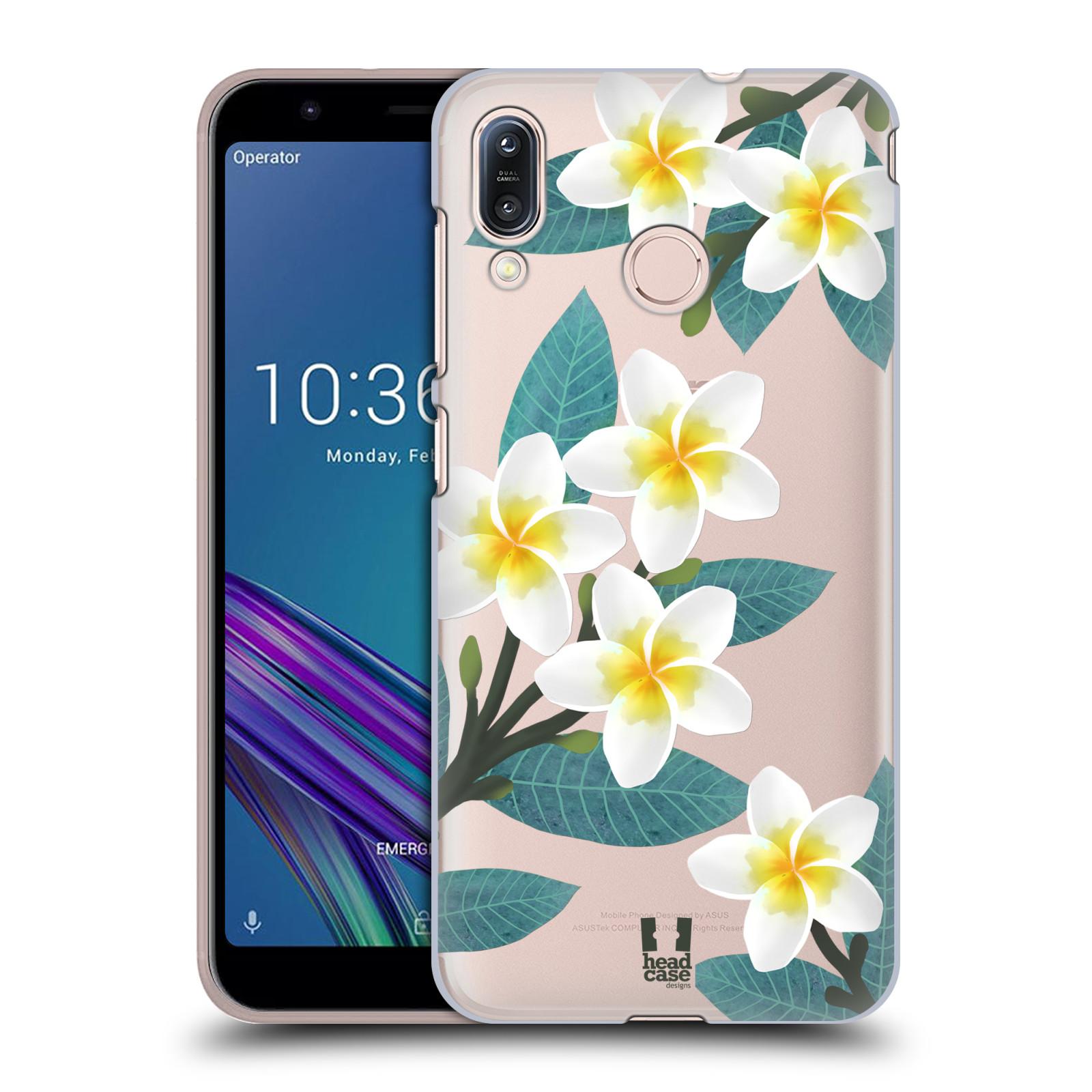 Pouzdro na mobil Asus Zenfone Max M1 (ZB555KL) - HEAD CASE - květinové vzory Plumérie