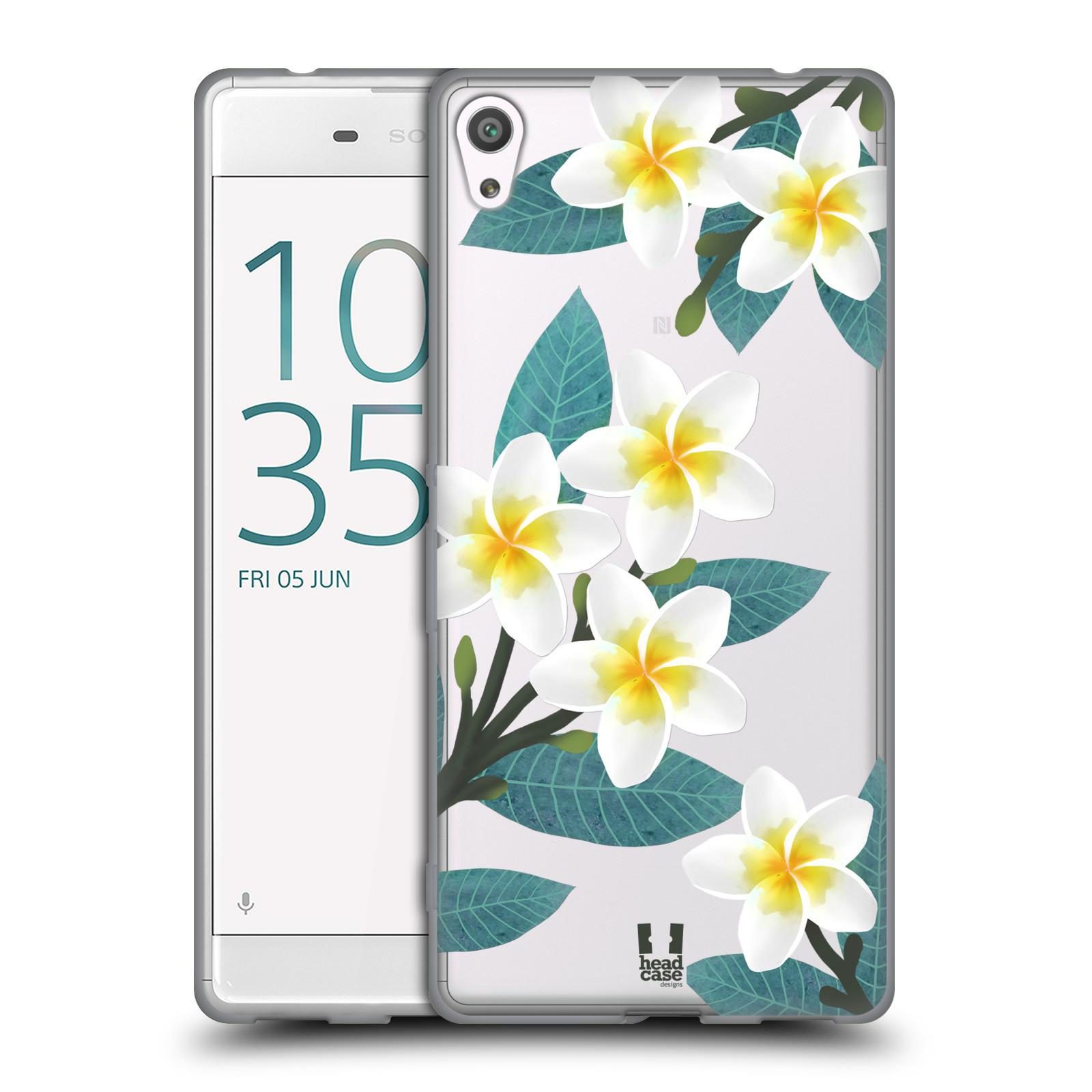HEAD CASE silikonový obal na mobil Sony Xperia XA ULTRA květinové vzory Plumérie