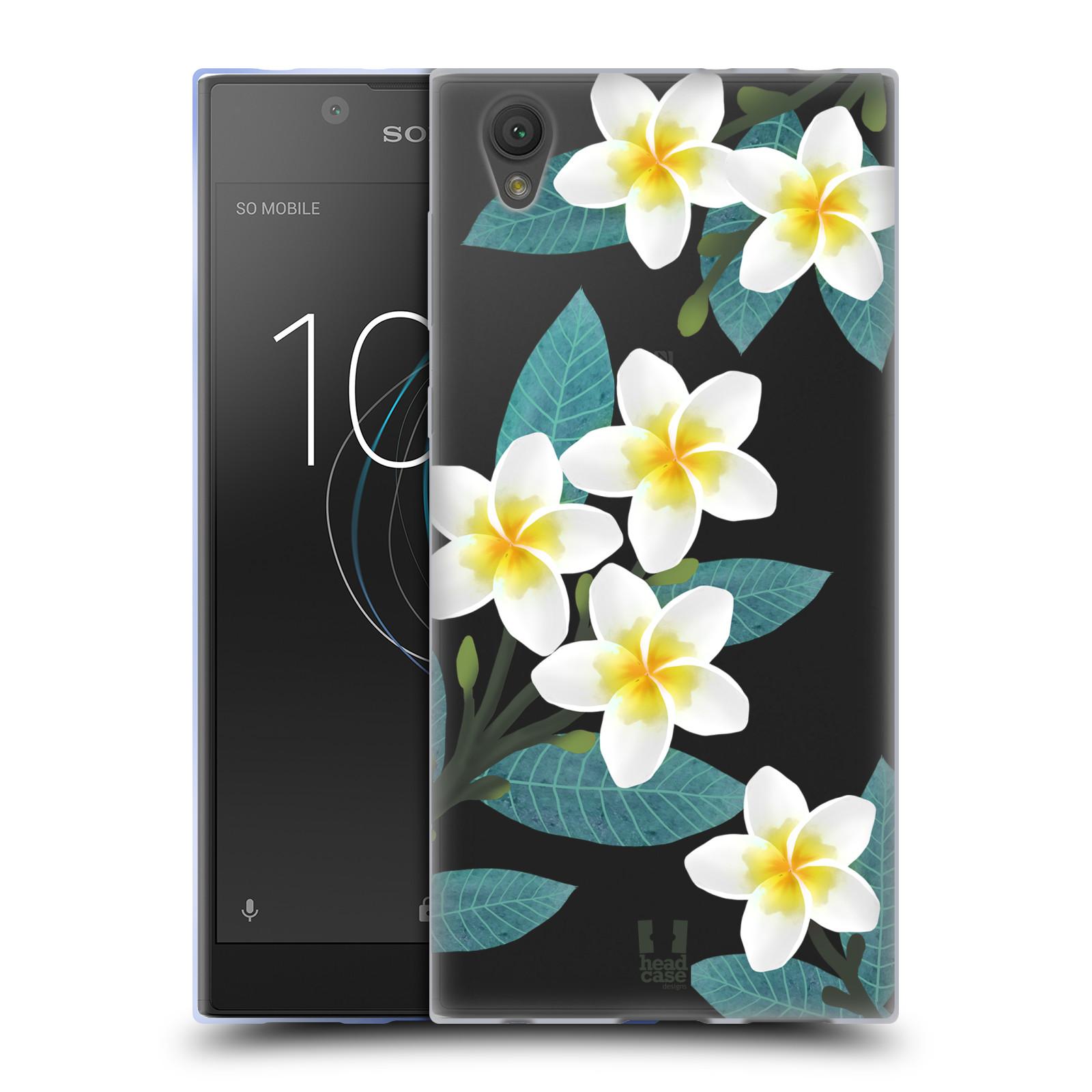 HEAD CASE silikonový obal na mobil Sony Xperia L1 květinové vzory Plumérie