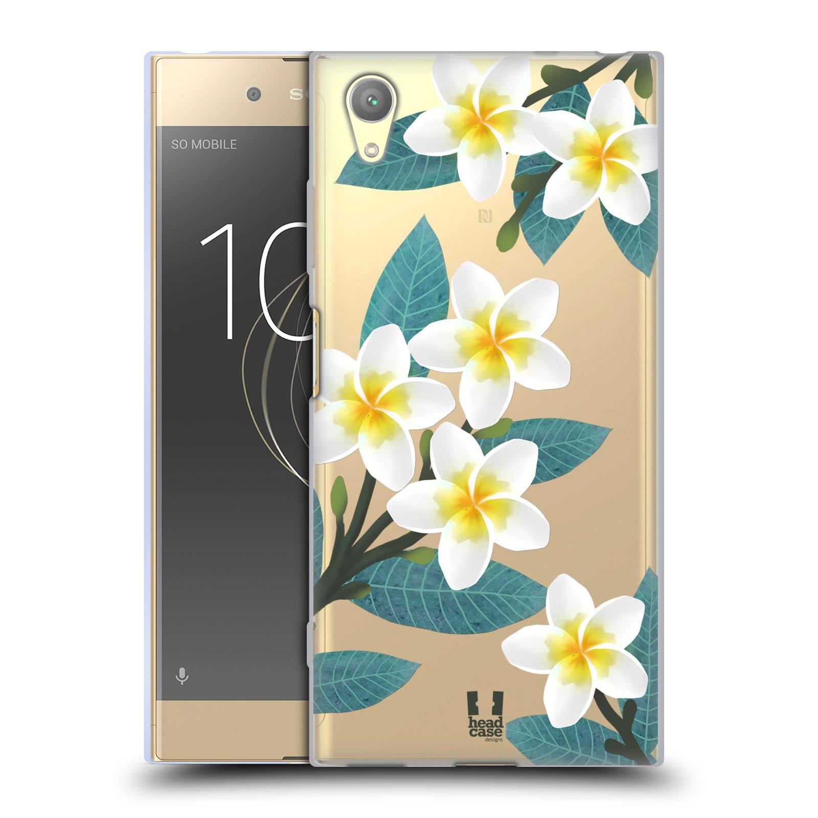 HEAD CASE silikonový obal na mobil Sony Xperia XA1 PLUS květinové vzory Plumérie