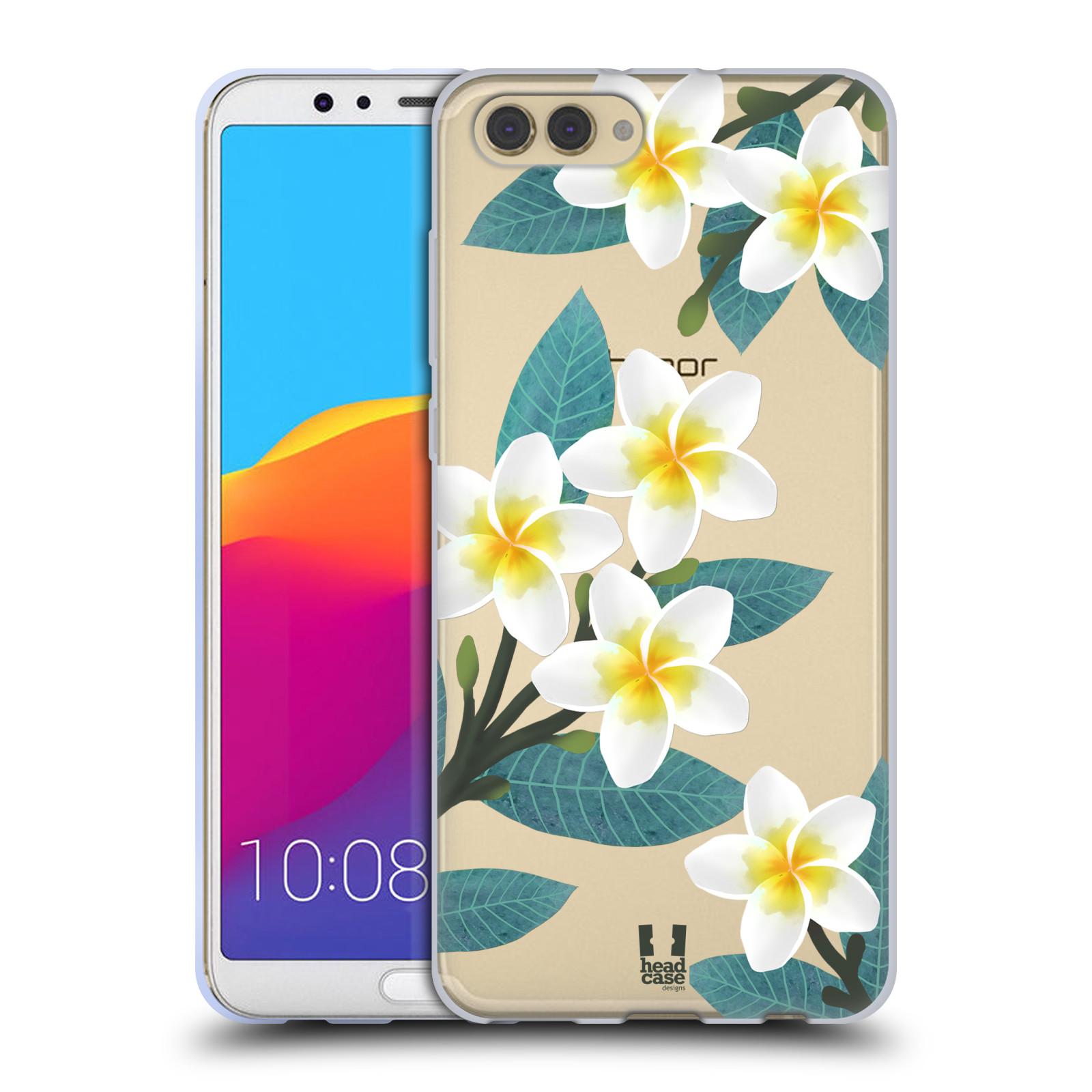HEAD CASE silikonový obal na mobil Huawei HONOR VIEW 10 / V10 květinové vzory Plumérie