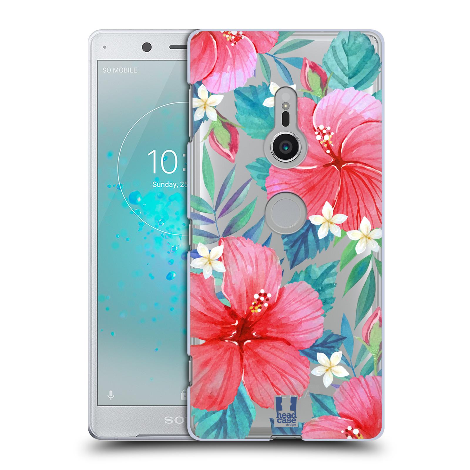 HEAD CASE plastový obal na mobil Sony Xperia XZ2 květinové vzory Ibišek čínská růže