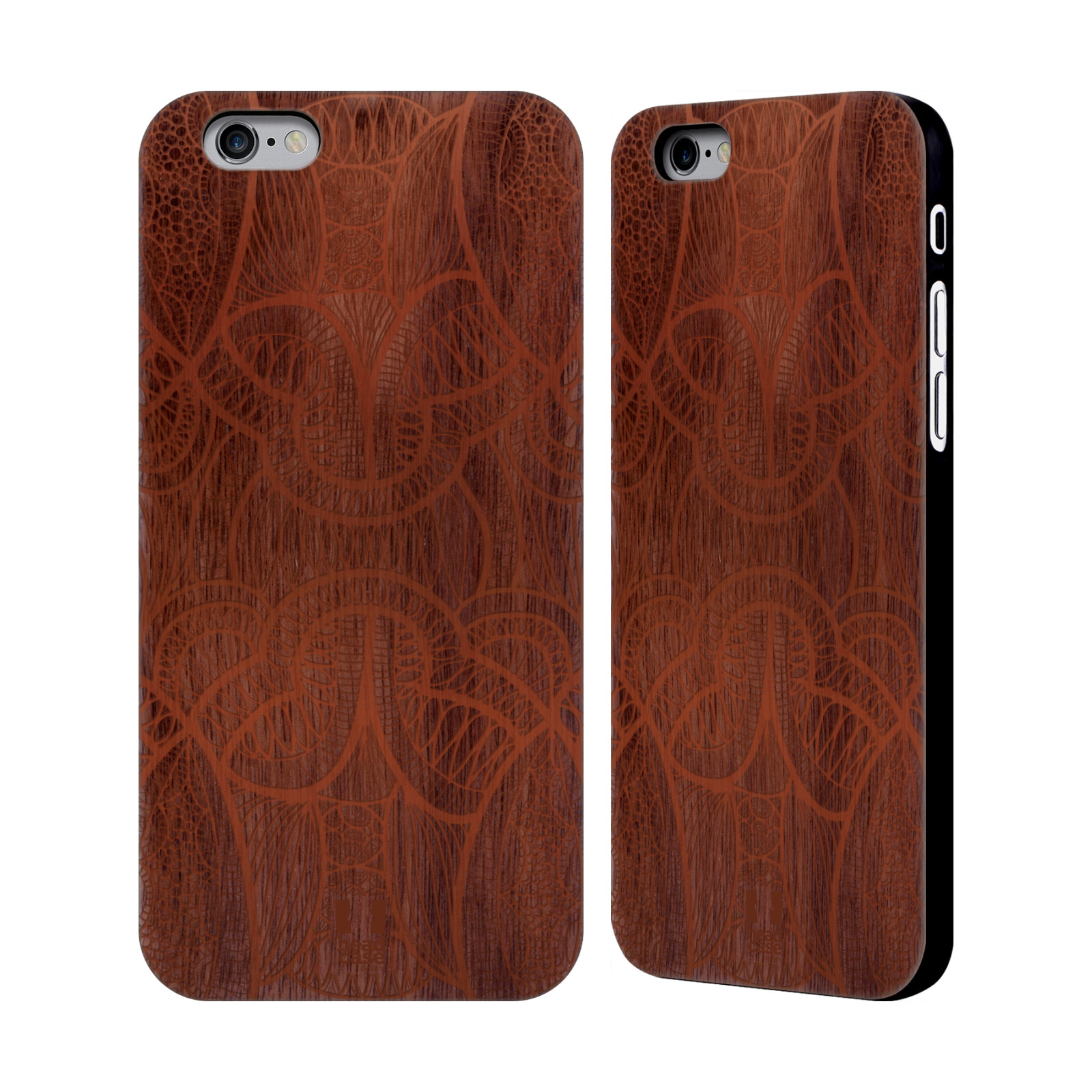 head case designs wood art walnut wooden back case cover. Black Bedroom Furniture Sets. Home Design Ideas