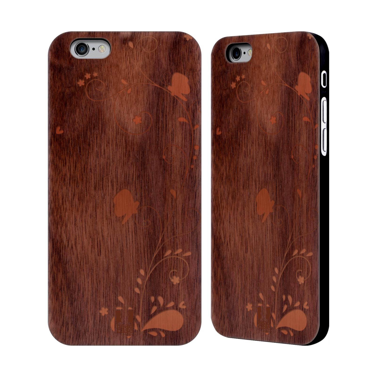 Head case designs wood art walnut wooden back case cover for Case design