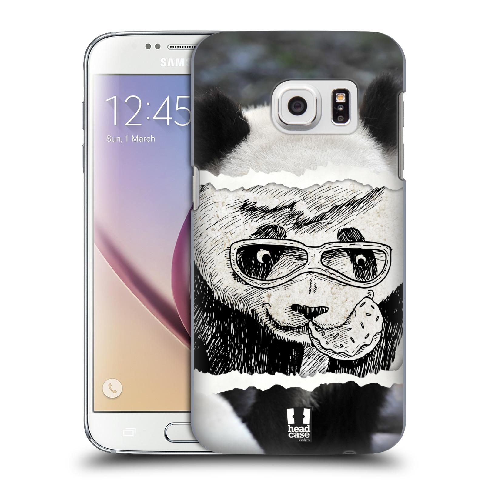 HEAD CASE plastový obal na mobil SAMSUNG GALAXY S7 vzor zvířata koláž roztomilá panda