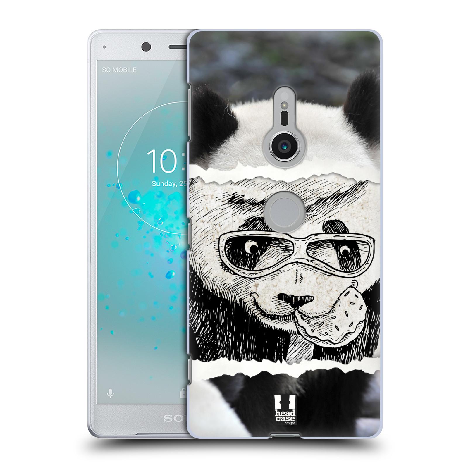 HEAD CASE plastový obal na mobil Sony Xperia XZ2 vzor zvířata koláž roztomilá panda