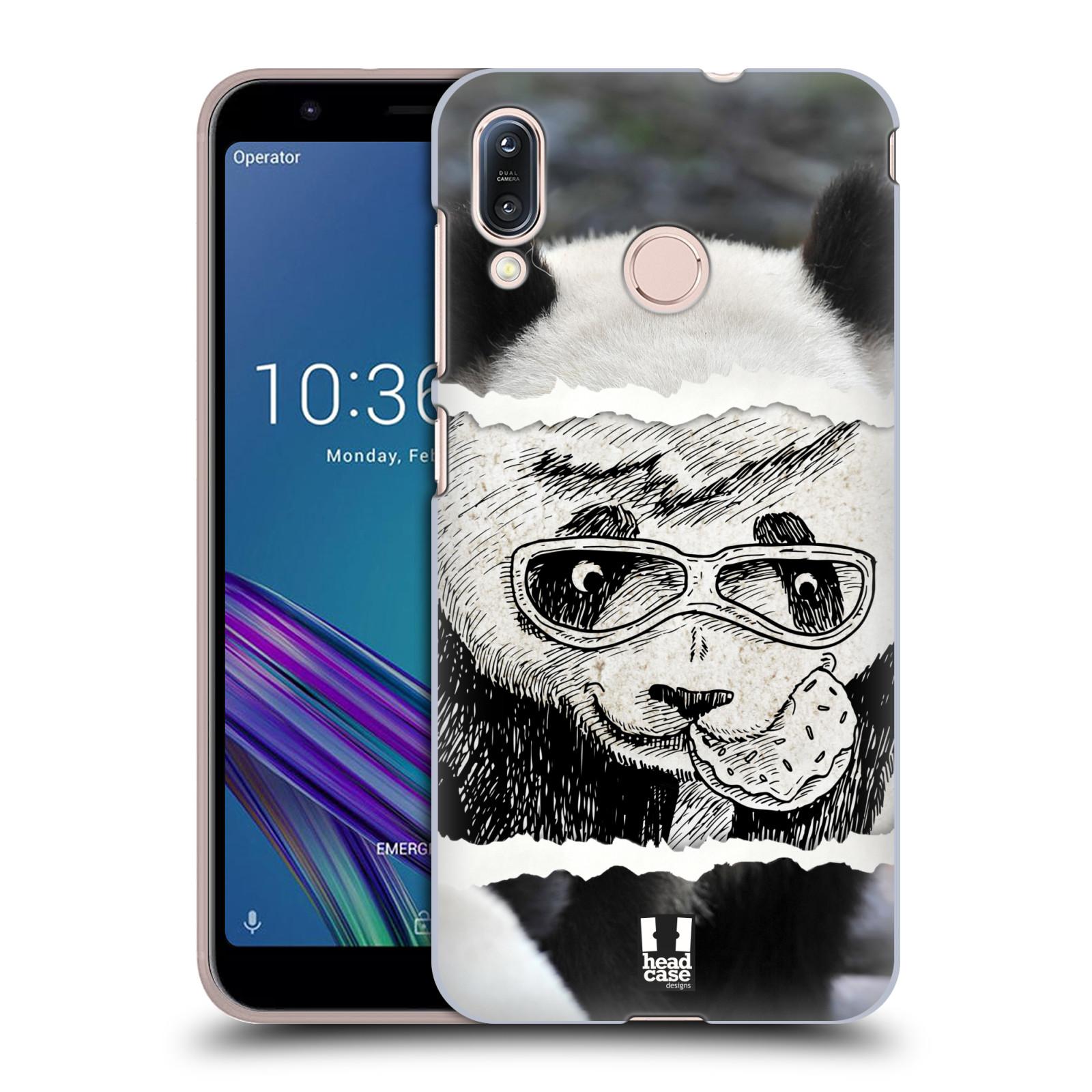 Pouzdro na mobil Asus Zenfone Max M1 (ZB555KL) - HEAD CASE - vzor zvířata koláž roztomilá panda