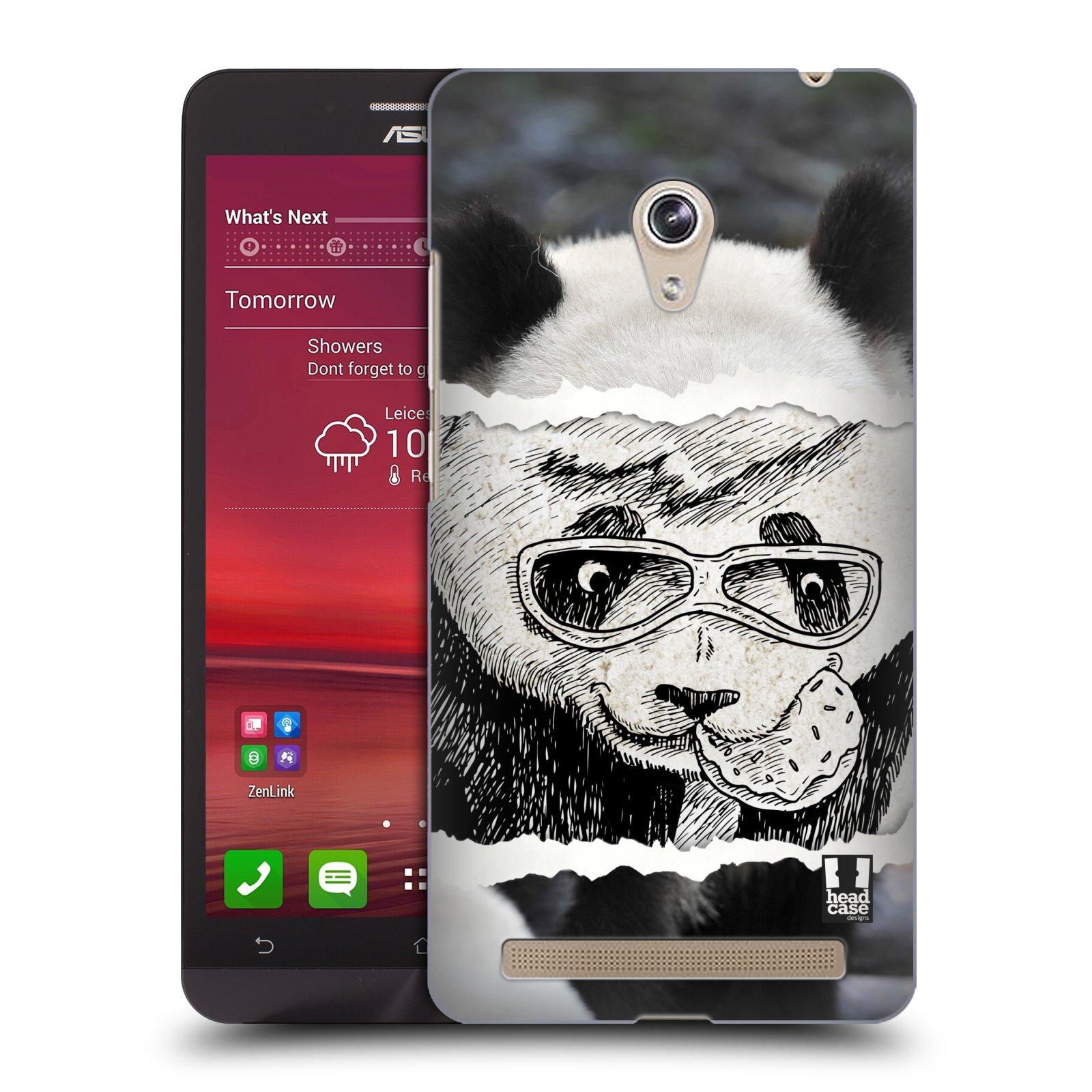 HEAD CASE plastový obal na mobil Asus Zenfone 6 vzor zvířata koláž roztomilá panda