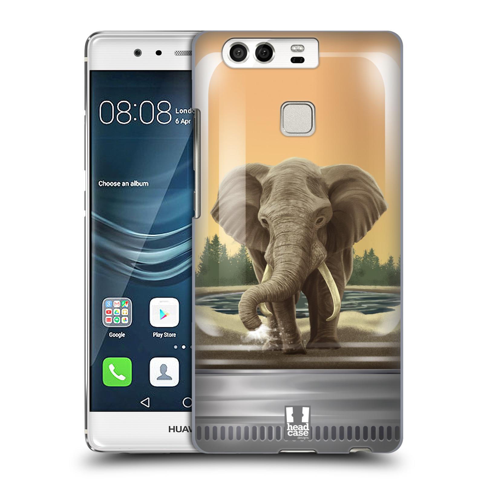 HEAD CASE plastový obal na mobil Huawei P9 / P9 DUAL SIM vzor Zvířátka v těžítku slon
