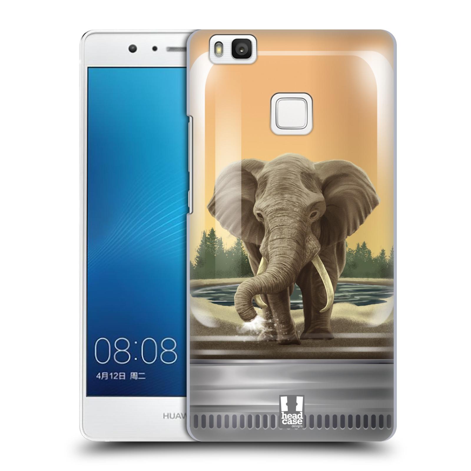 HEAD CASE plastový obal na mobil Huawei P9 LITE / P9 LITE DUAL SIM vzor Zvířátka v těžítku slon