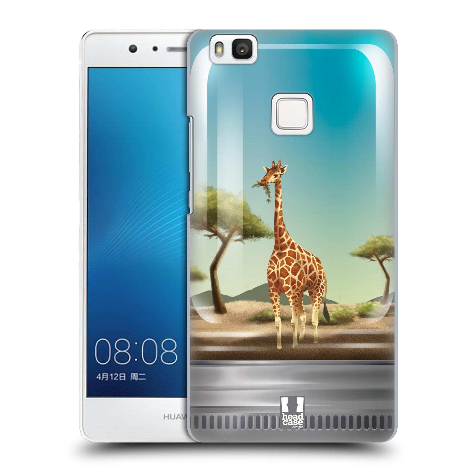 HEAD CASE plastový obal na mobil Huawei P9 LITE / P9 LITE DUAL SIM vzor Zvířátka v těžítku žirafa