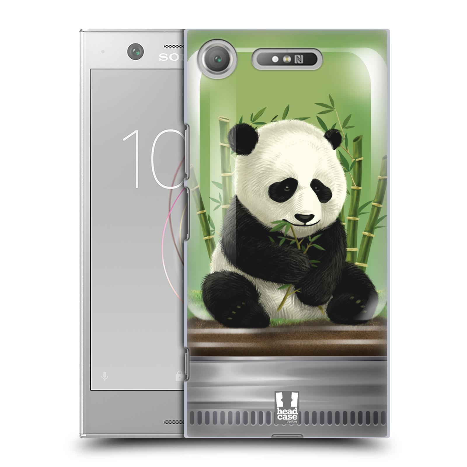 HEAD CASE plastový obal na mobil Sony Xperia XZ1 vzor Zvířátka v těžítku panda