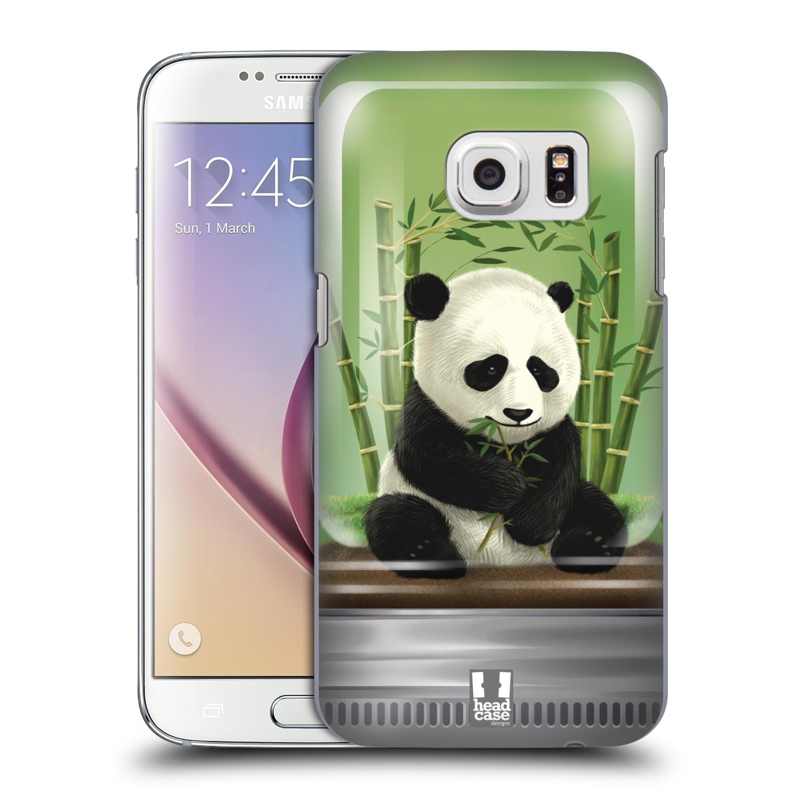 HEAD CASE plastový obal na mobil SAMSUNG GALAXY S7 vzor Zvířátka v těžítku panda