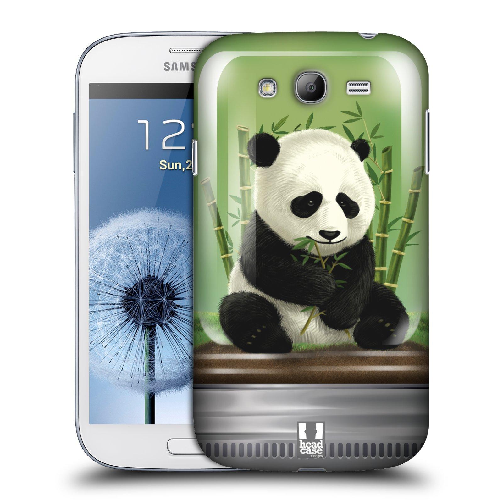 HEAD CASE plastový obal na mobil SAMSUNG GALAXY Grand i9080 vzor Zvířátka v těžítku panda