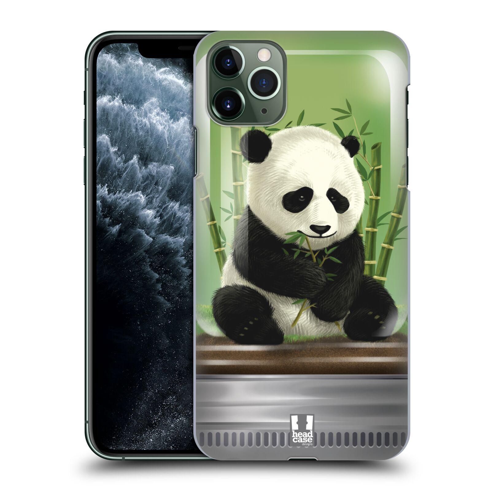 Pouzdro na mobil Apple Iphone 11 PRO MAX - HEAD CASE - vzor Zvířátka v těžítku panda