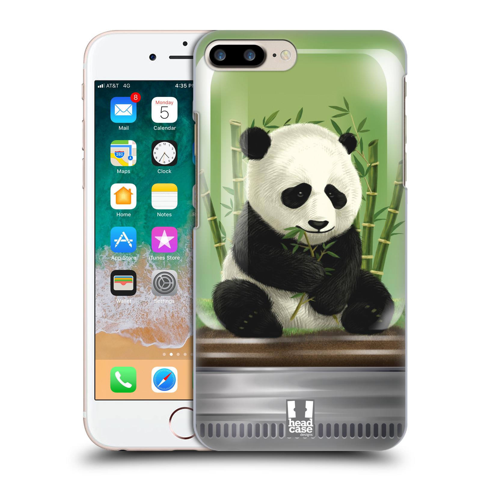 HEAD CASE plastový obal na mobil Apple Iphone 7 PLUS vzor Zvířátka v těžítku panda