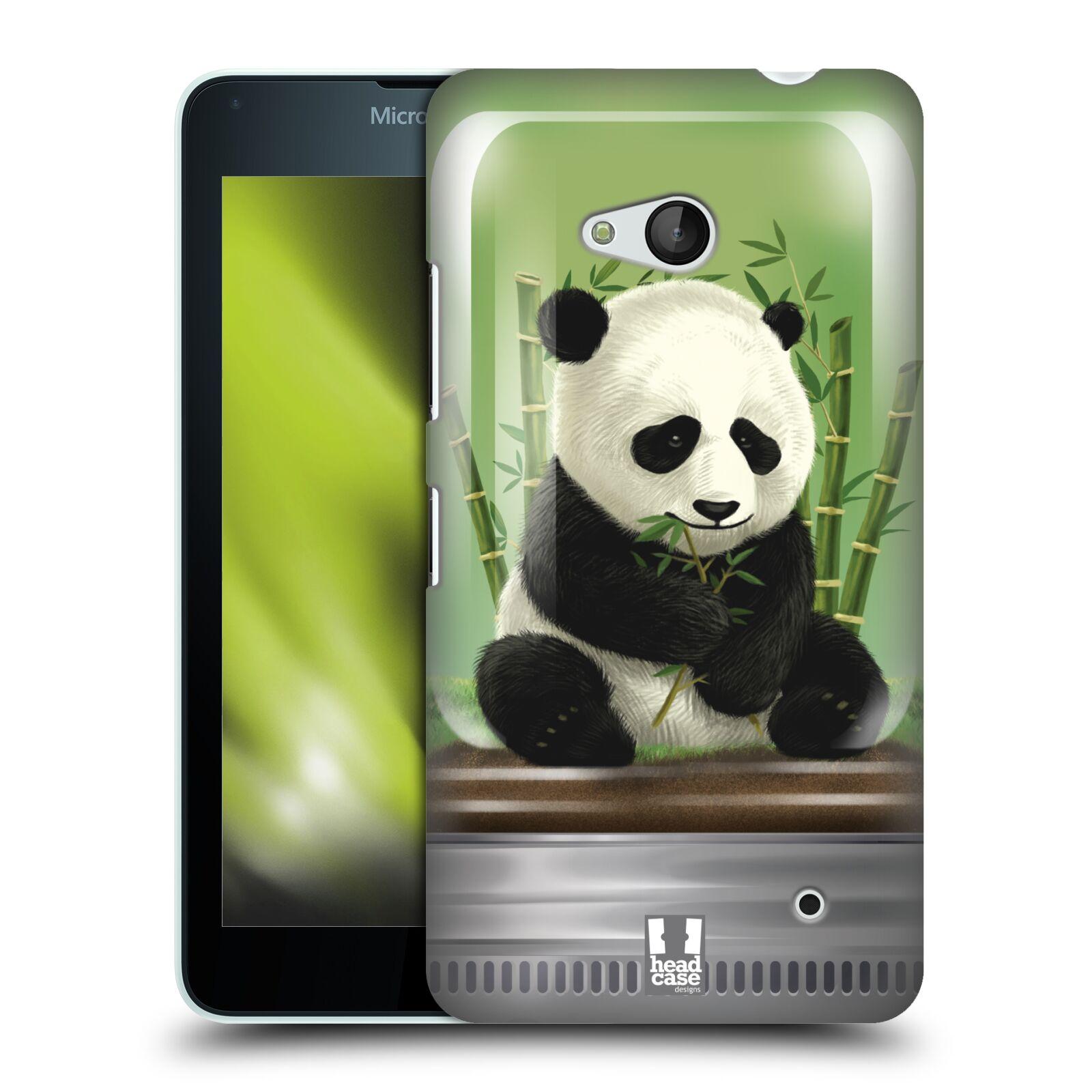 HEAD CASE plastový obal na mobil Nokia Lumia 640 vzor Zvířátka v těžítku panda