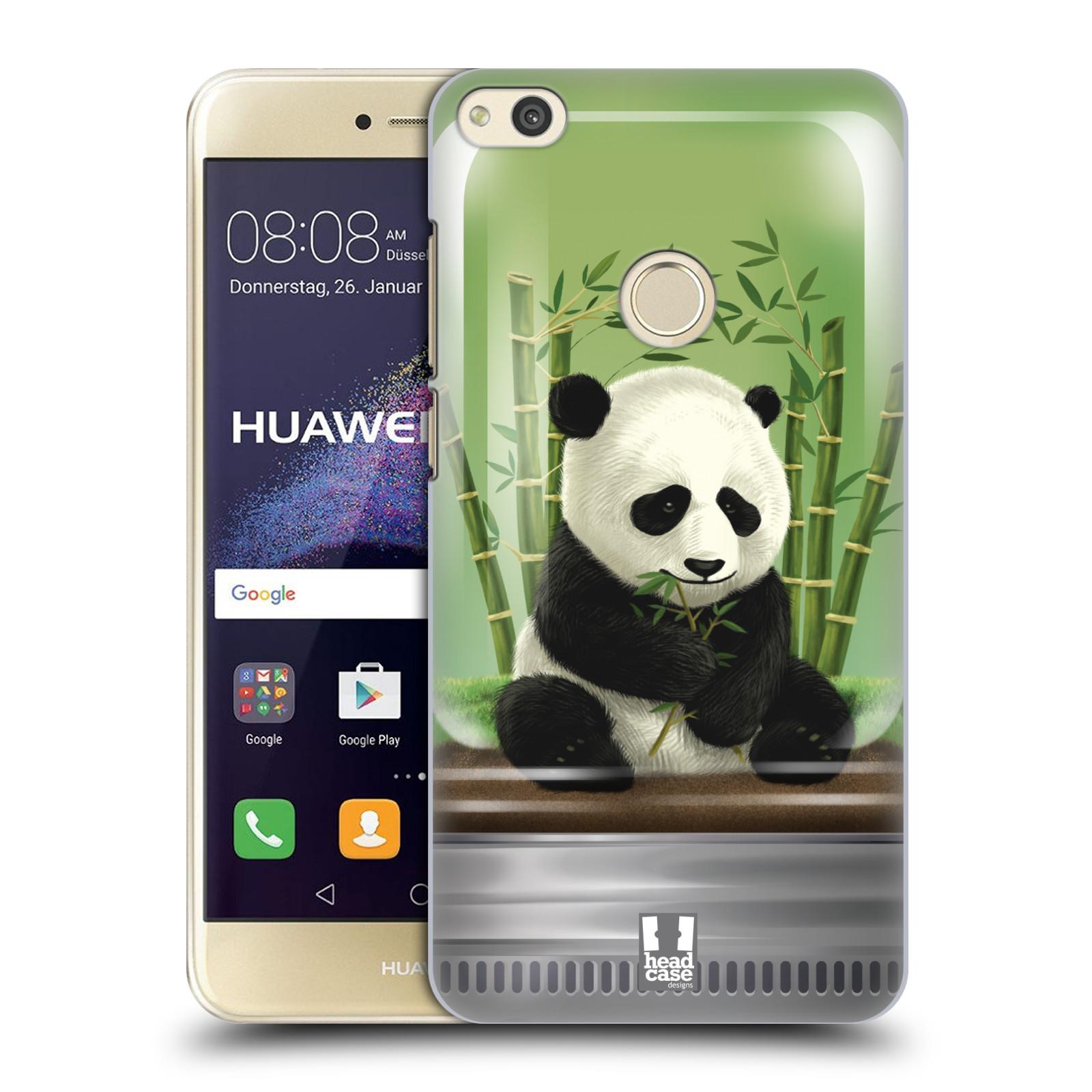 HEAD CASE silikonový obal na mobil Huawei P8 LITE 2017 vzor Zvířátka v těžítku panda