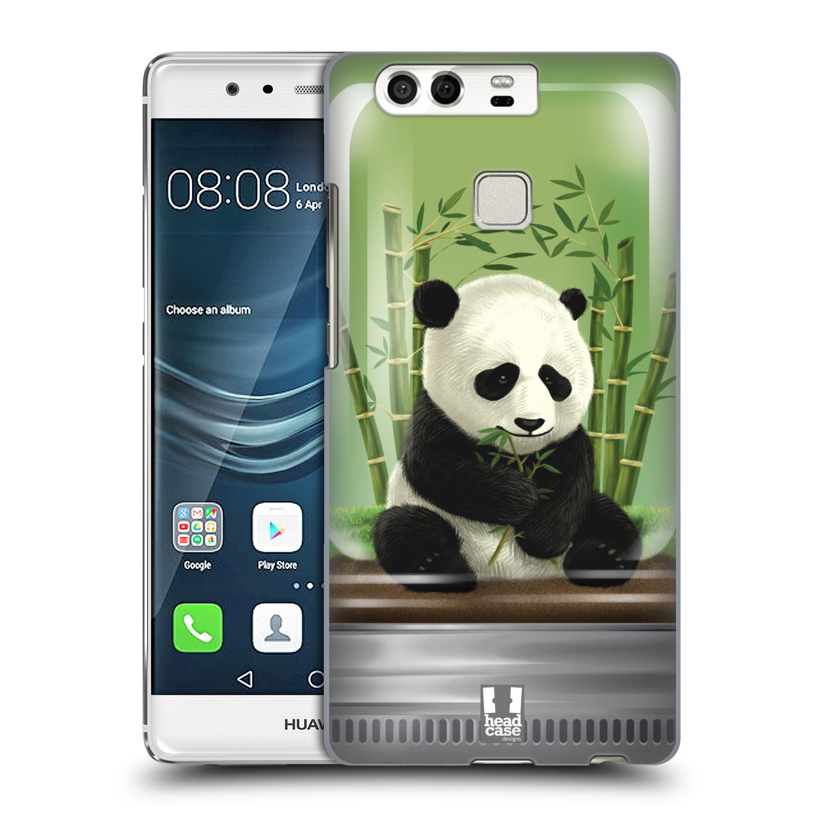 HEAD CASE plastový obal na mobil Huawei P9 / P9 DUAL SIM vzor Zvířátka v těžítku panda